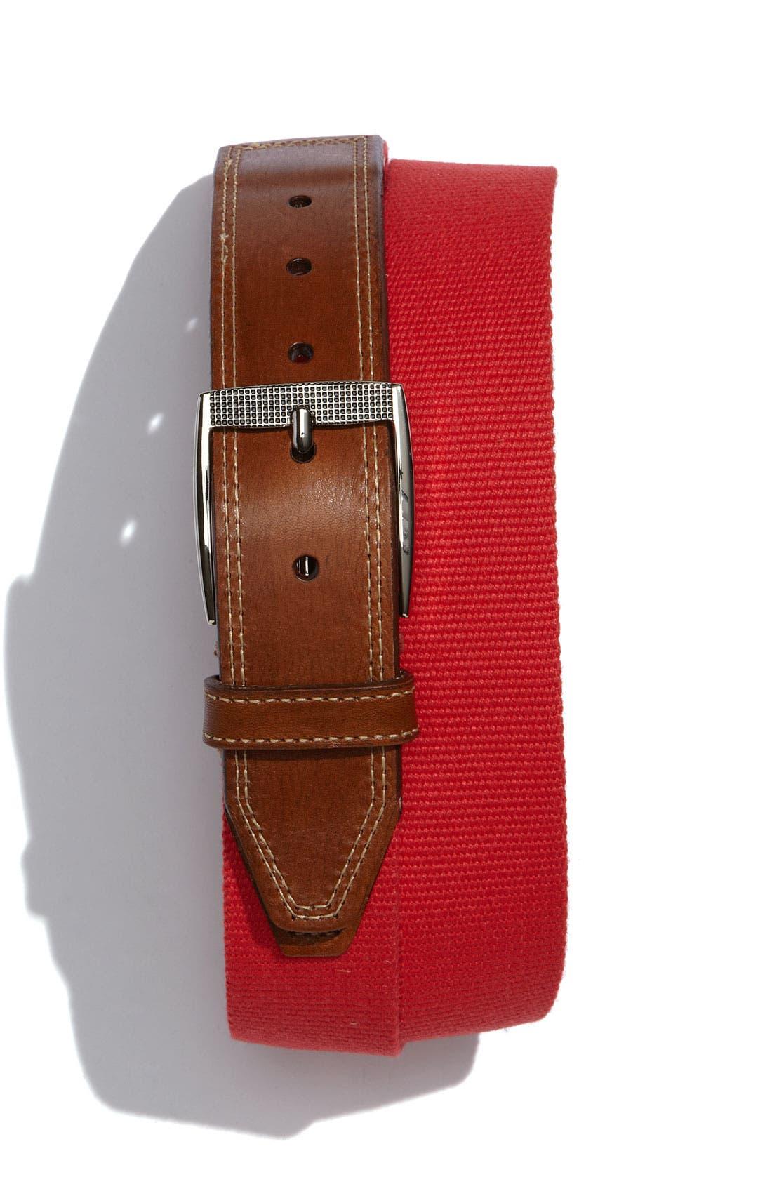 Alternate Image 1 Selected - Martin Dingman 'Yale' Belt