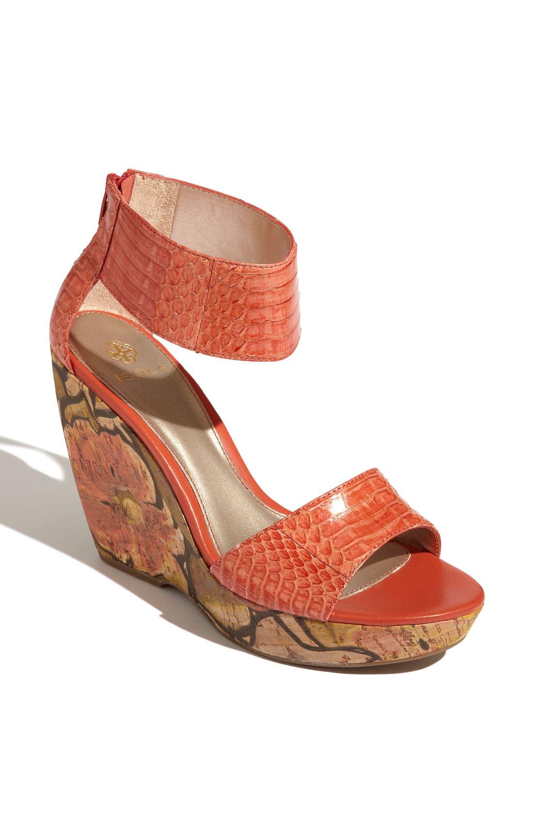 Main Image - Isolá 'Oasis' Wedge Sandal