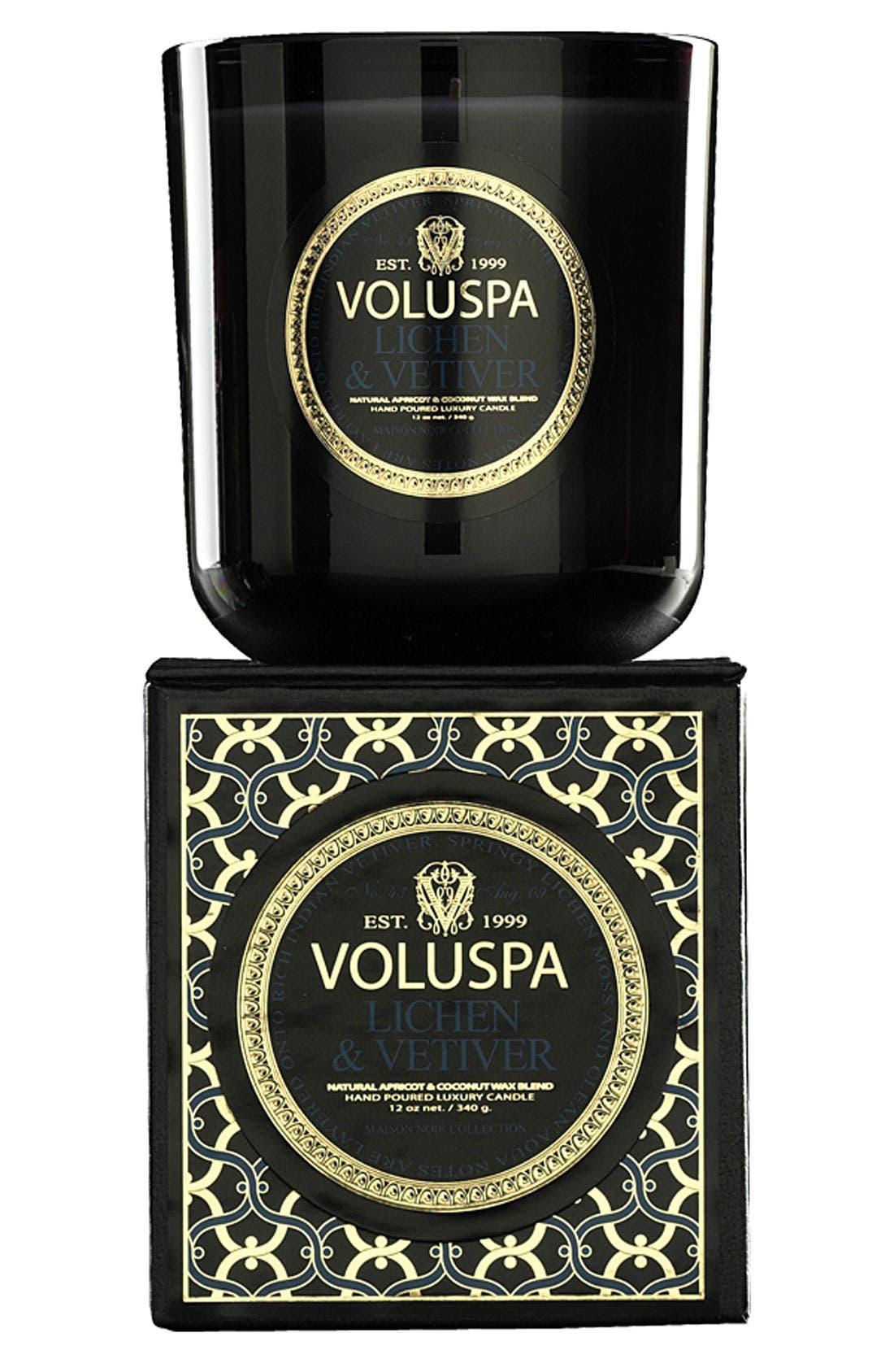 Main Image - Voluspa 'Maison Noir - Lichen & Vetiver' Scented Candle