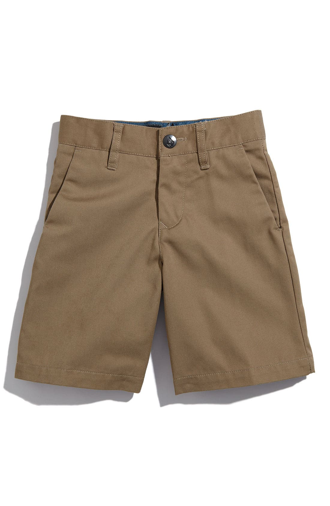 Alternate Image 1 Selected - Volcom 'Modern' Chino Shorts (Toddler Boys)