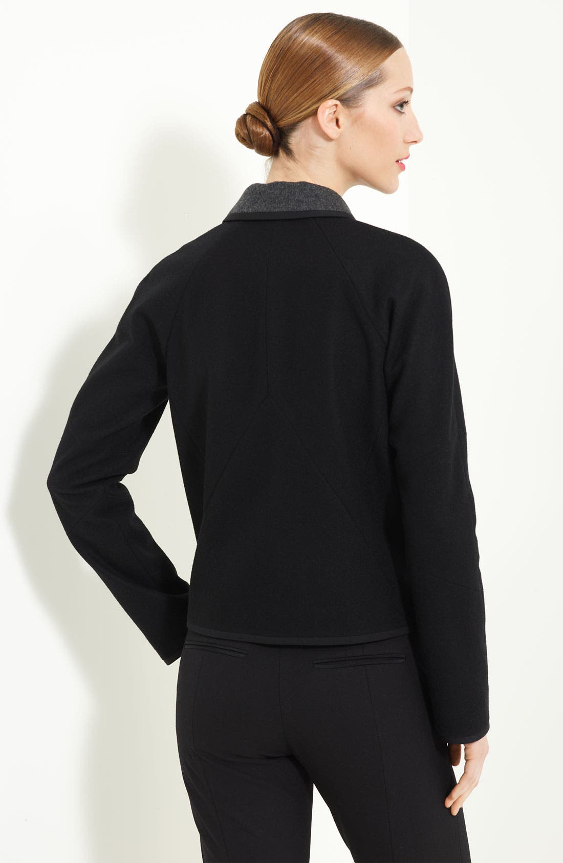 Alternate Image 2  - Jason Wu Double Face Wool Crop Coat