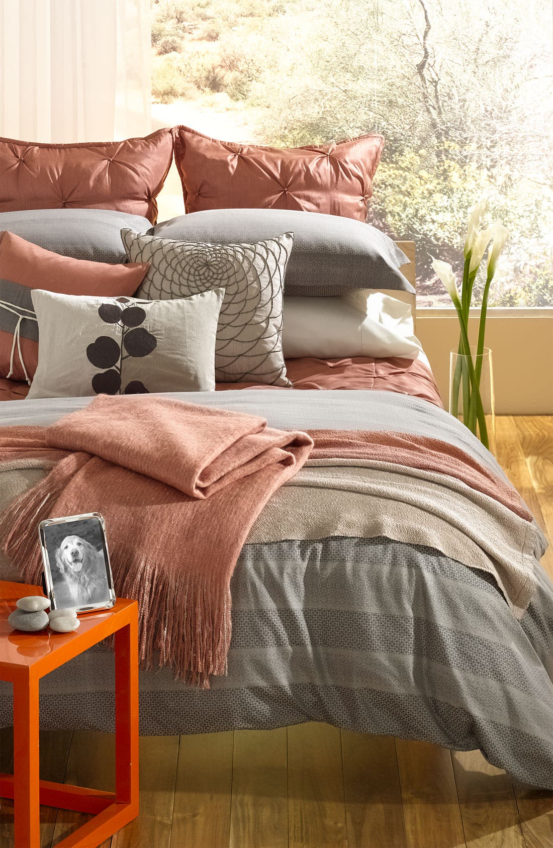 Alternate Image 3  - Nordstrom at Home Colorblock Throw