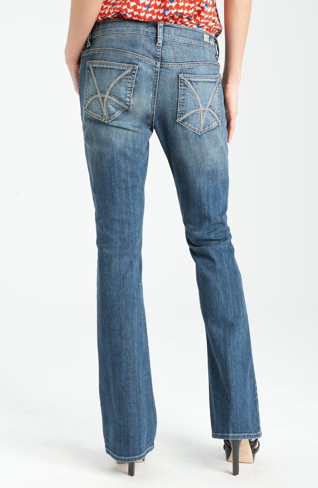 Alternate Image 2  - KUT from the Kloth Baby Bootcut Jeans (Experience Wash)