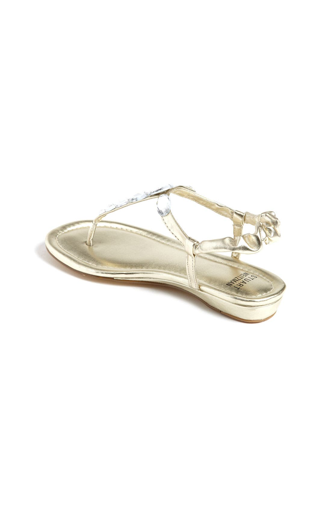 Alternate Image 2  - Stuart Weitzman 'Bella' Sandal (Toddler, Little Kid & Big Kid)