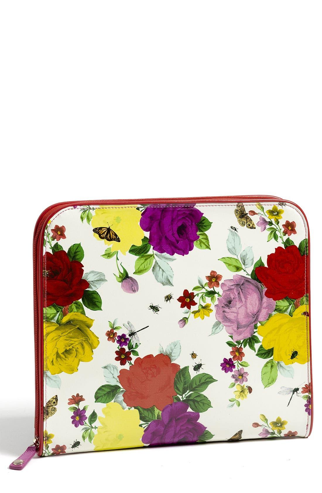 Alternate Image 1 Selected - Ted Baker London 'Rose Bug' Print iPad Case