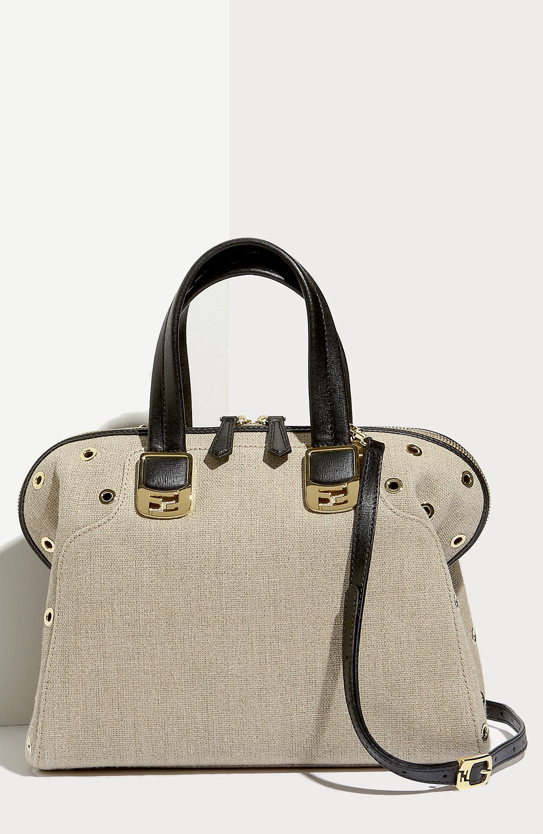 Alternate Image 1 Selected - Fendi 'Chameleon - Small' Grommet Tote
