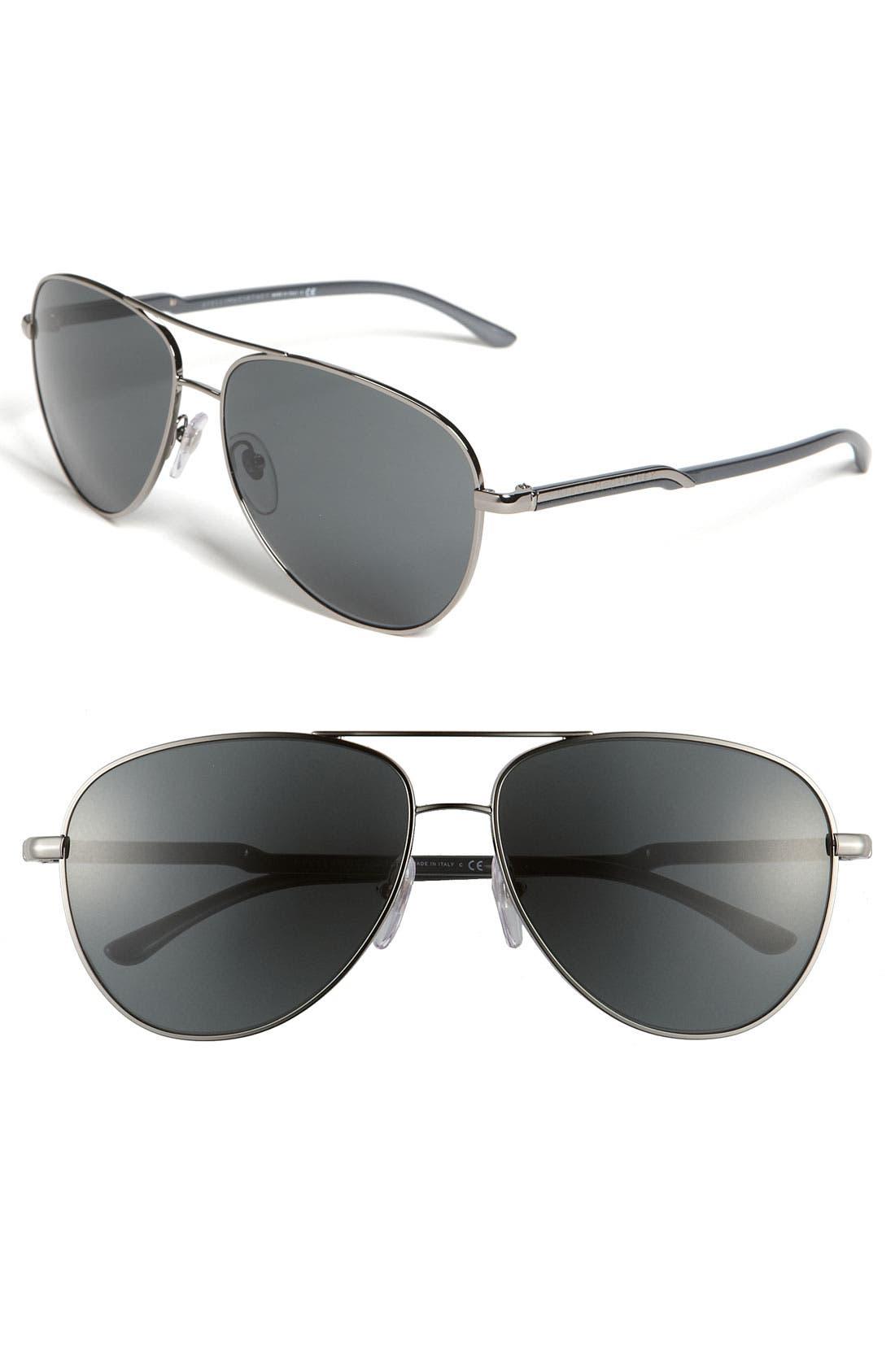 Main Image - Stella McCartney 60mm Metal Aviator Sunglasses