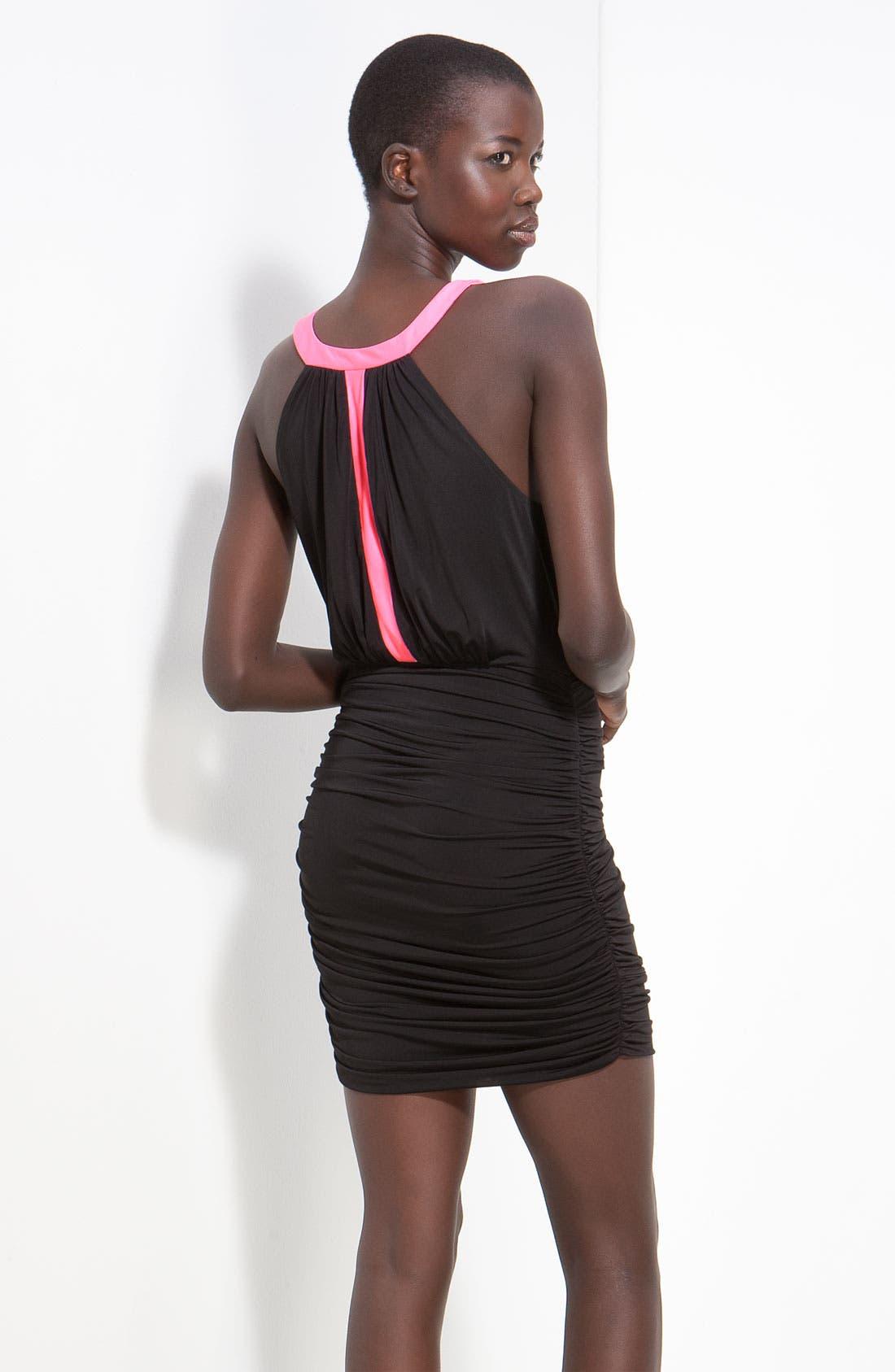 Alternate Image 2  - Jay Godfrey 'Escobar' Contrast Trim Miniskirt