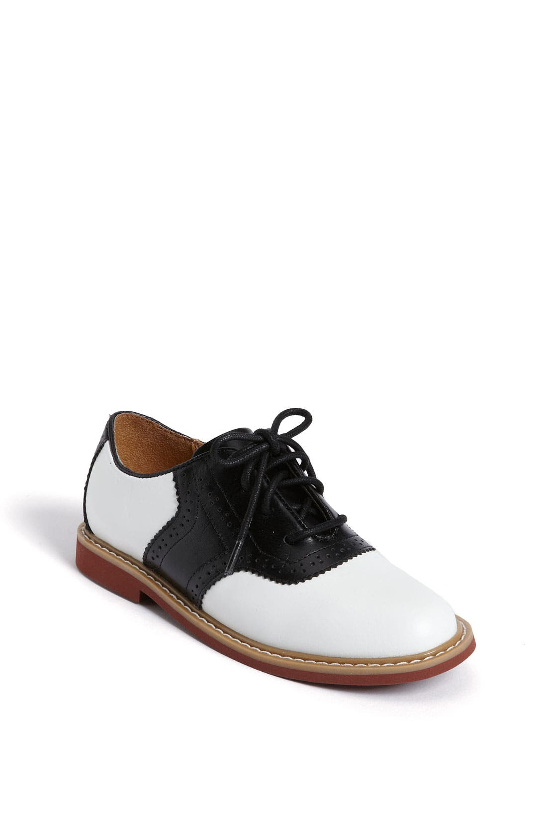 Alternate Image 1 Selected - Cole Haan 'Air Franklin' Saddle Shoes (Toddler, Little Kid & Big Kid)
