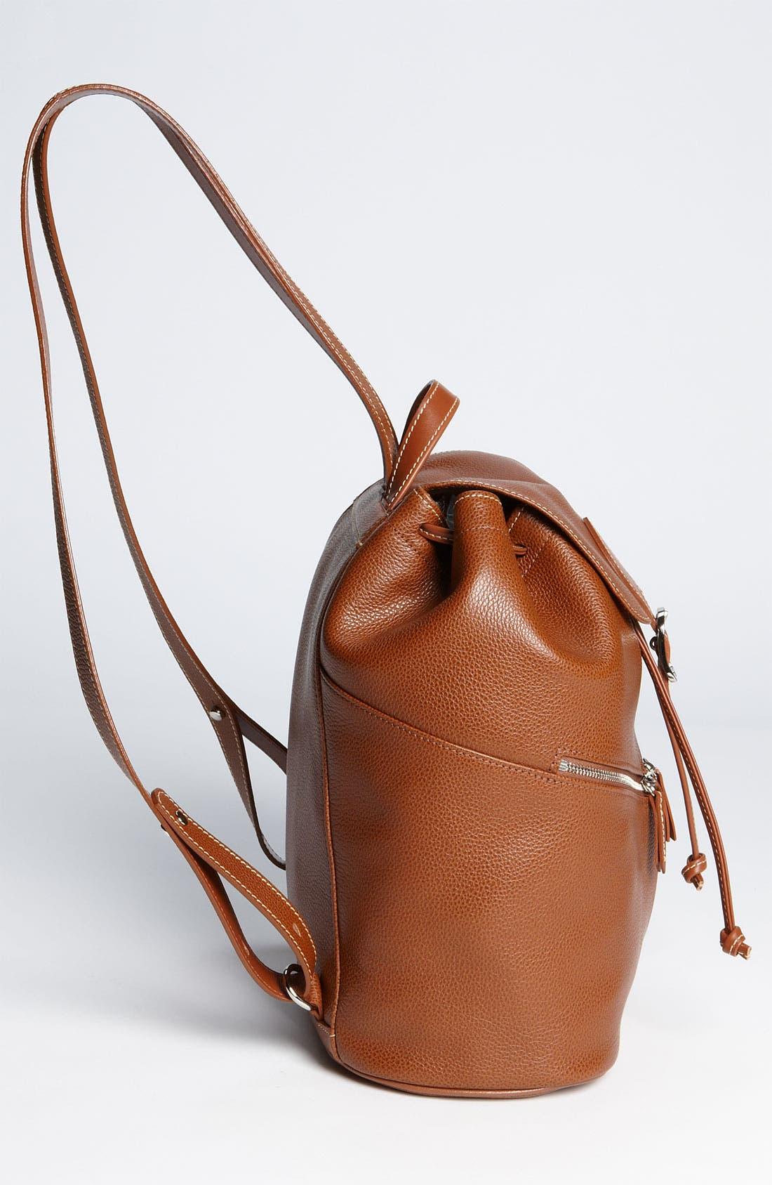 Alternate Image 2  - Longchamp Leather Backpack