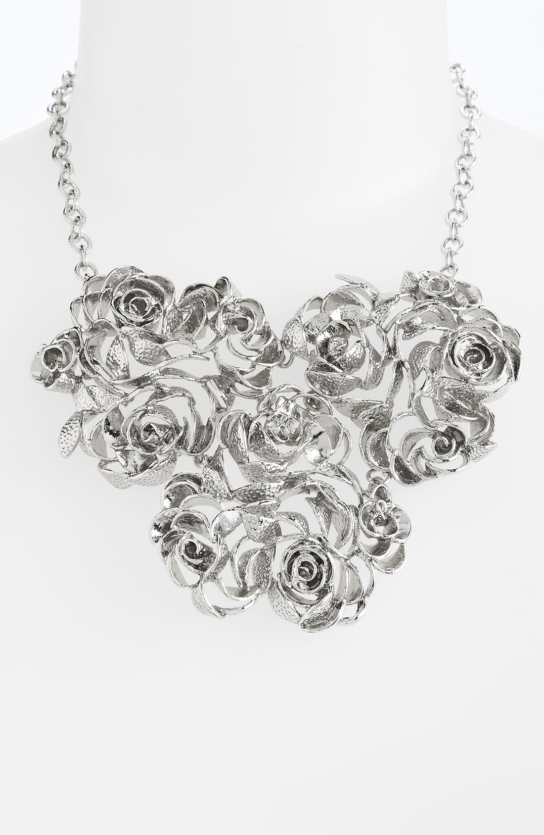Alternate Image 1 Selected - Kendra Scott 'Addy' Rose Bib Necklace