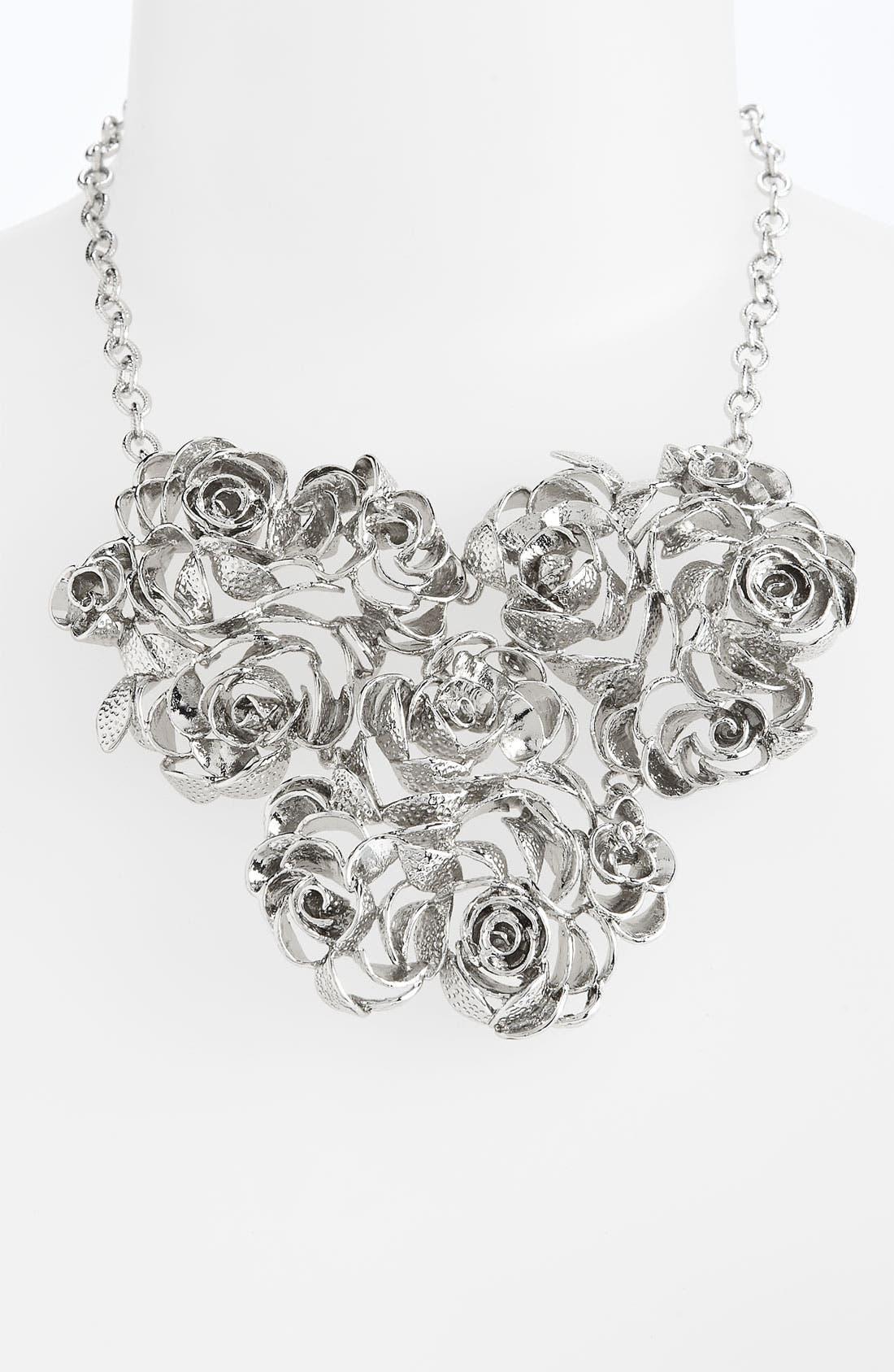 Main Image - Kendra Scott 'Addy' Rose Bib Necklace