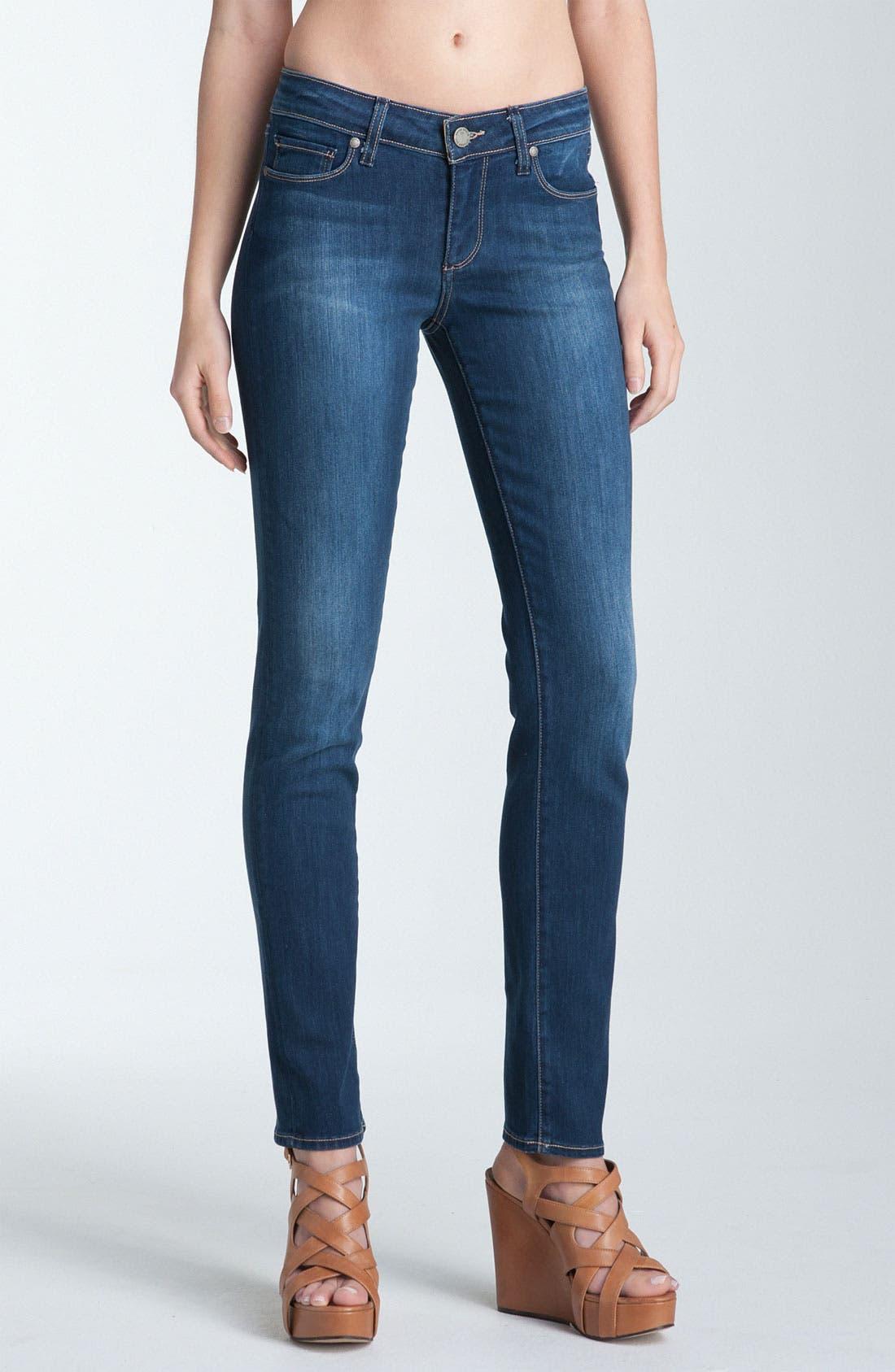 Alternate Image 1 Selected - Paige Denim 'Skyline' Skinny Jeans (Ravine)