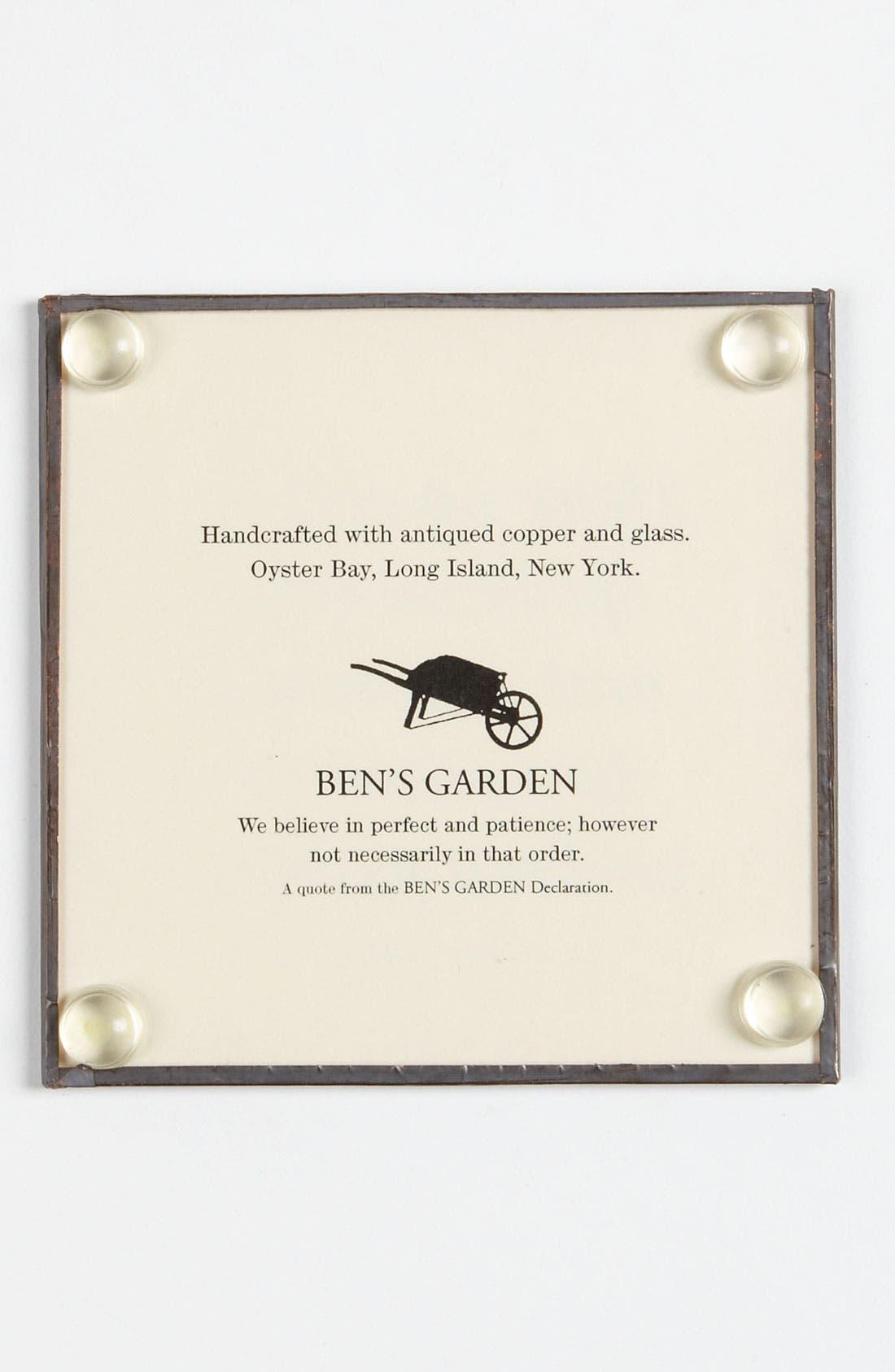 Alternate Image 2  - Ben's Garden 'Hear No Evil' Coaster Set