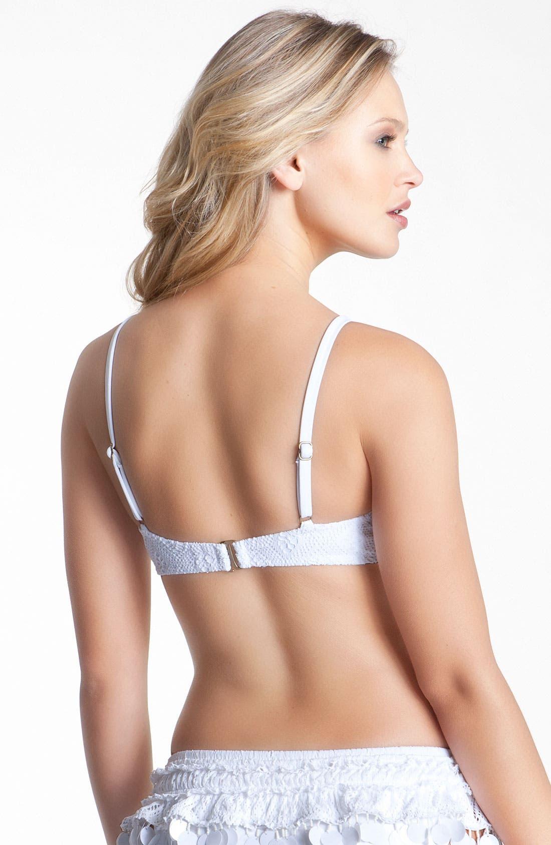 Alternate Image 2  - Becca 'Cha Cha Cha' Bikini Top