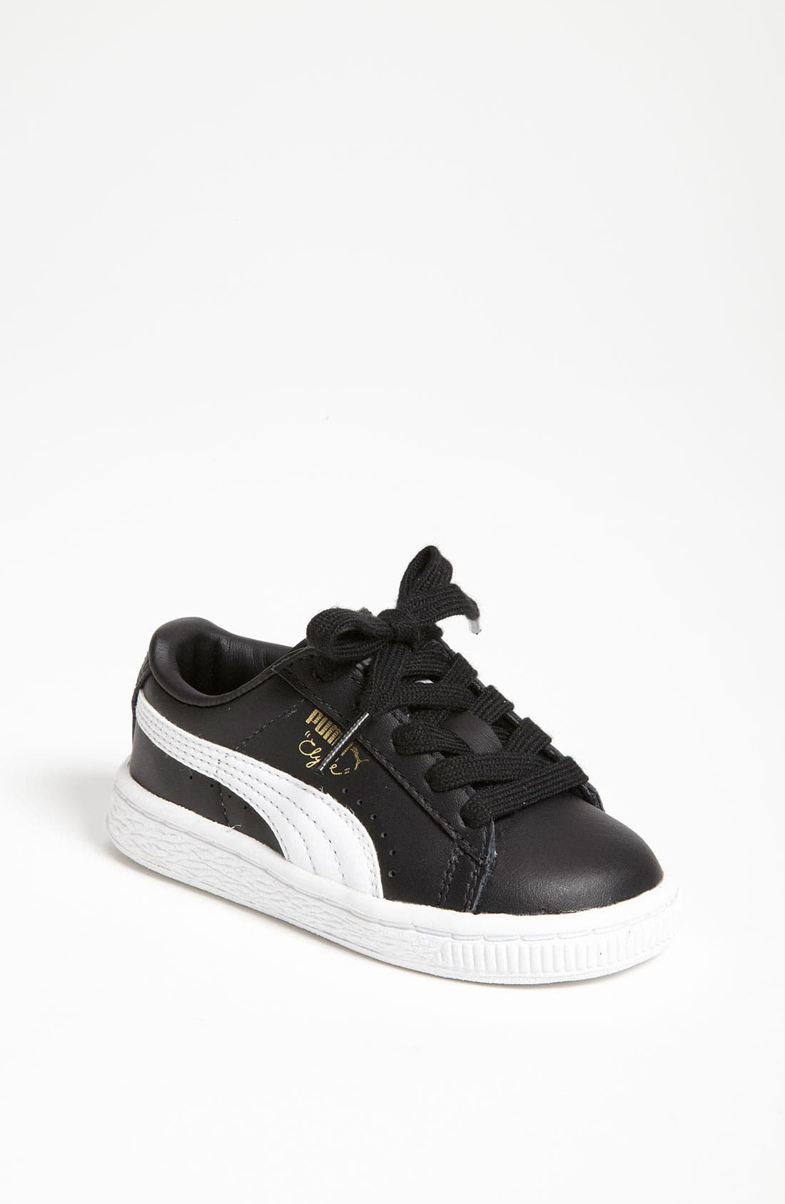 Alternate Image 1 Selected - PUMA 'Clyde' Sneaker (Baby, Walker & Toddler)