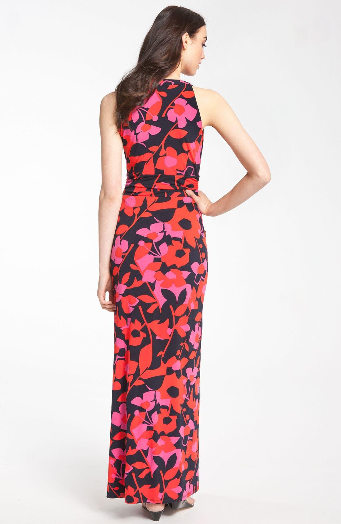 Alternate Image 2  - Vince Camuto 'Island Cutout' Print Maxi Dress