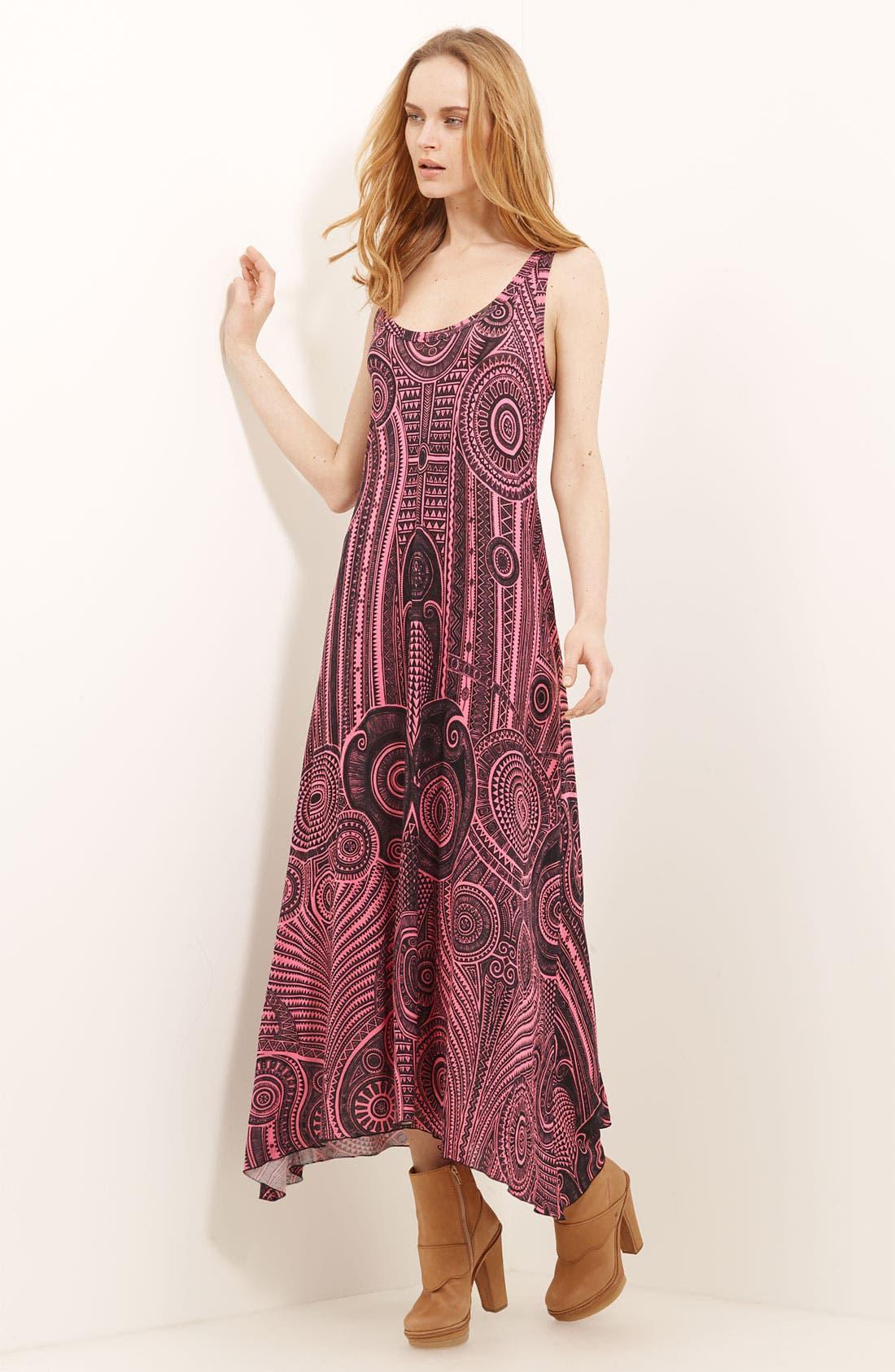 Alternate Image 1 Selected - Jean Paul Gaultier Fuzzi Print Jersey Maxi Dress
