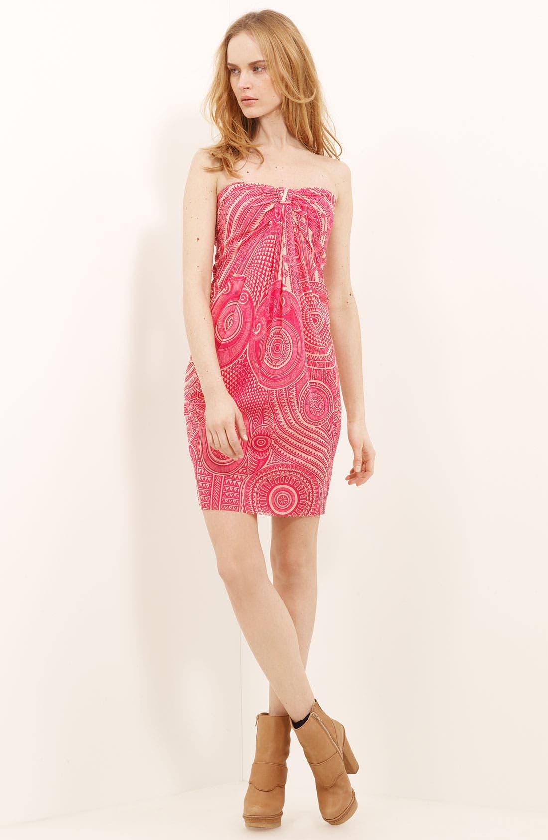 Alternate Image 1 Selected - Jean Paul Gaultier Fuzzi Tulle Knit Dress