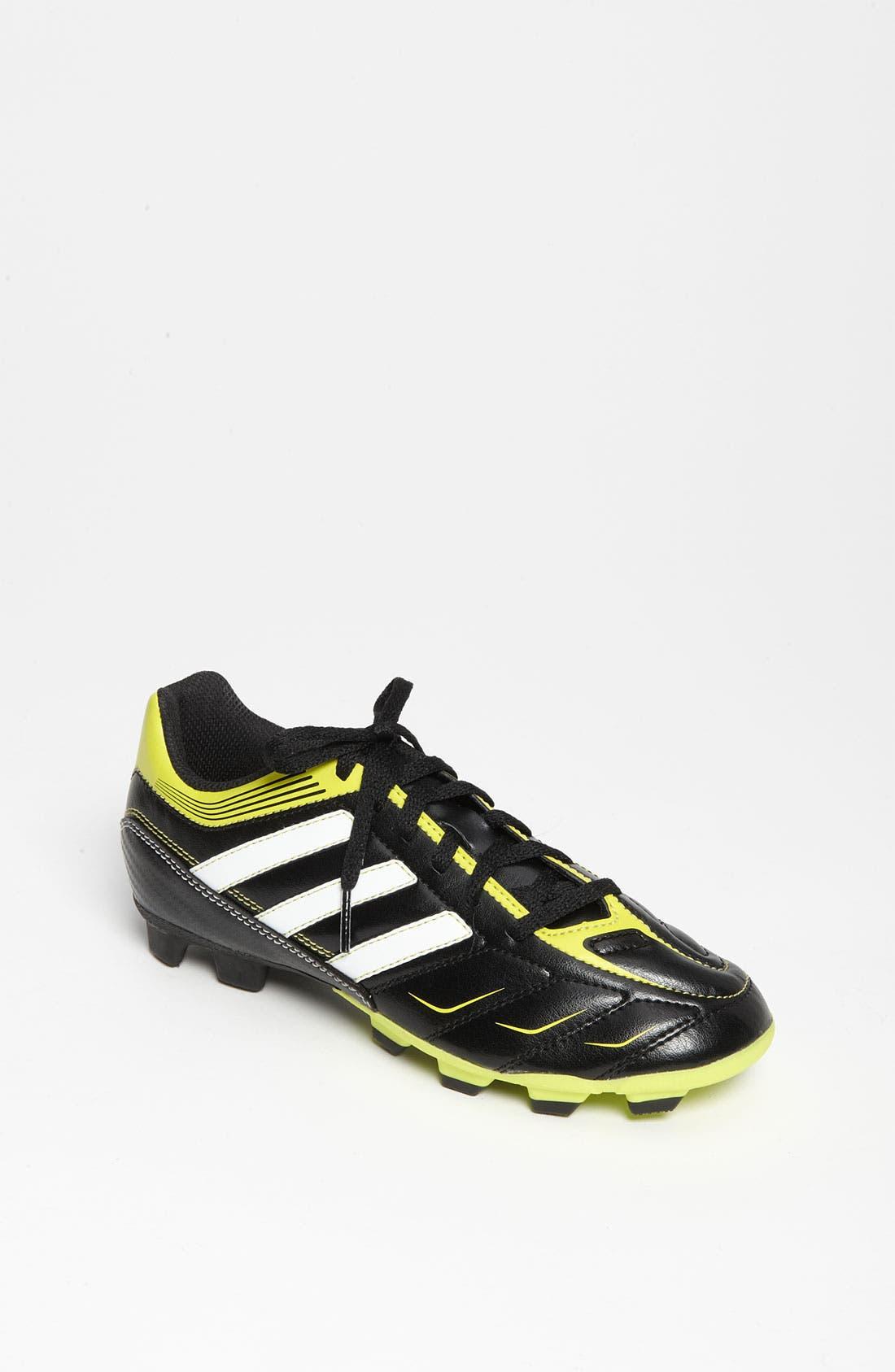Alternate Image 1 Selected - adidas 'Eziero' Soccer Shoe (Little Kid & Big Kid)