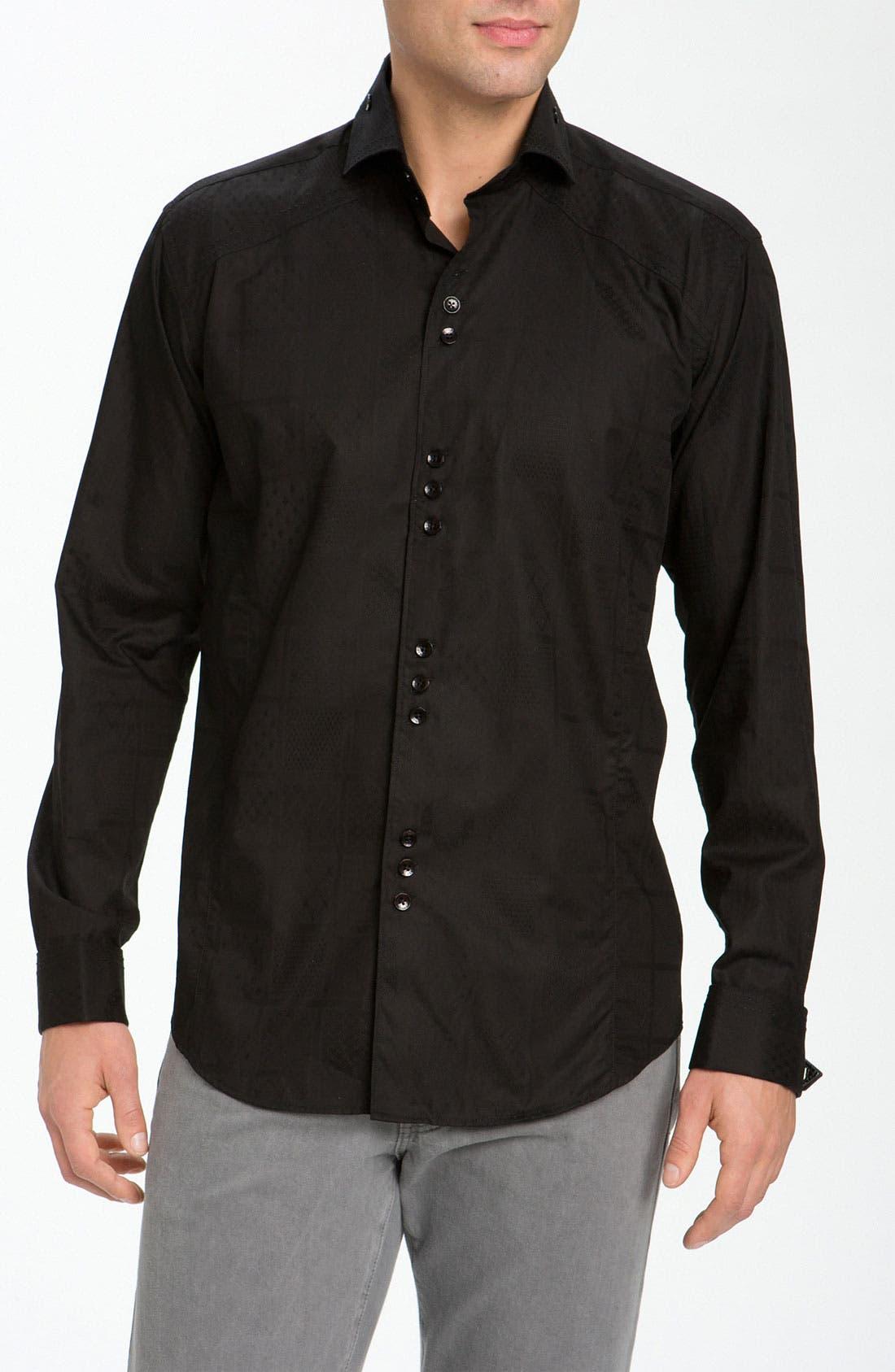 Main Image - Bogosse 'Matis' Jacquard Sport Shirt