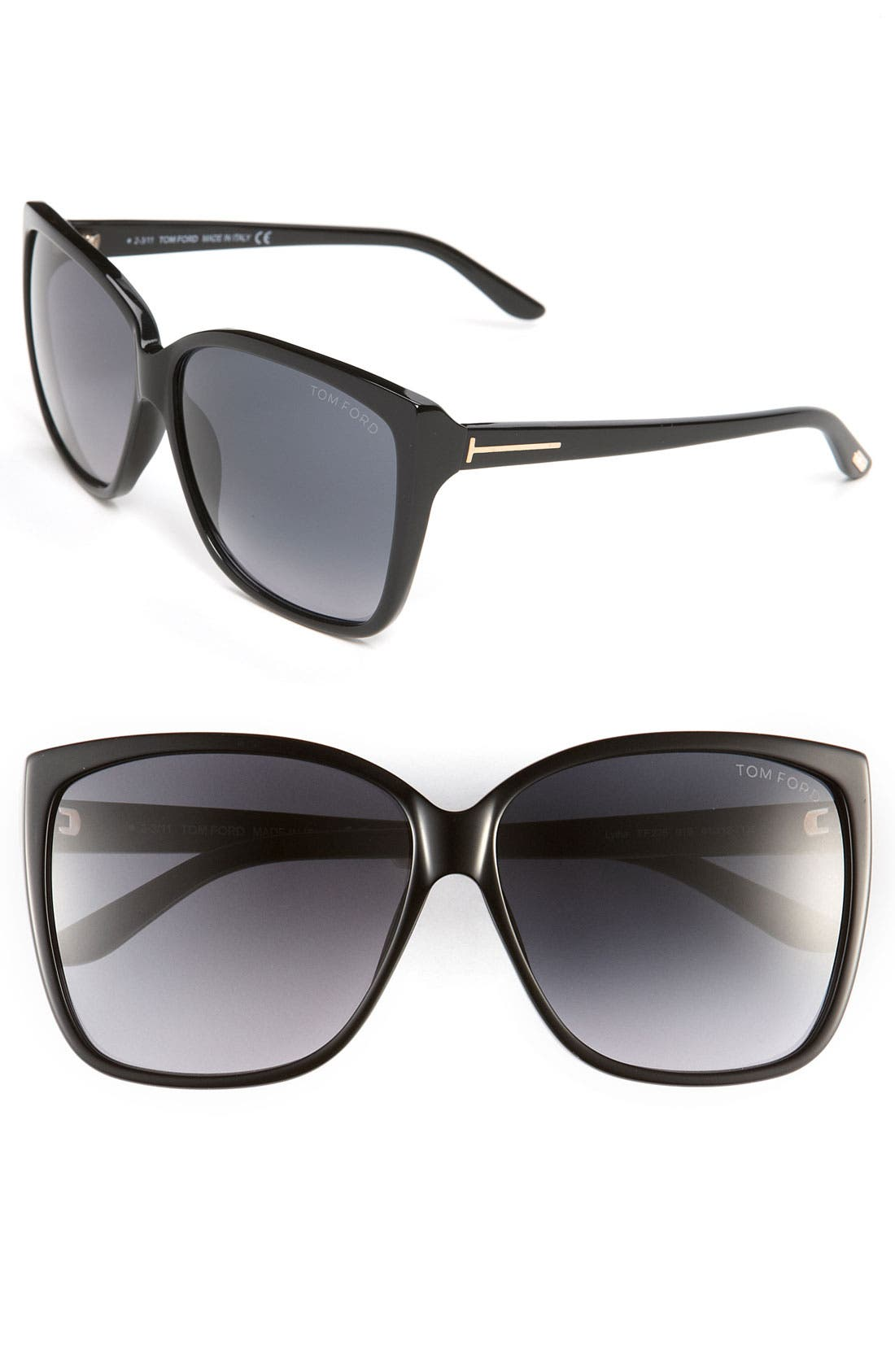Main Image - Tom Ford Oversized Sunglasses