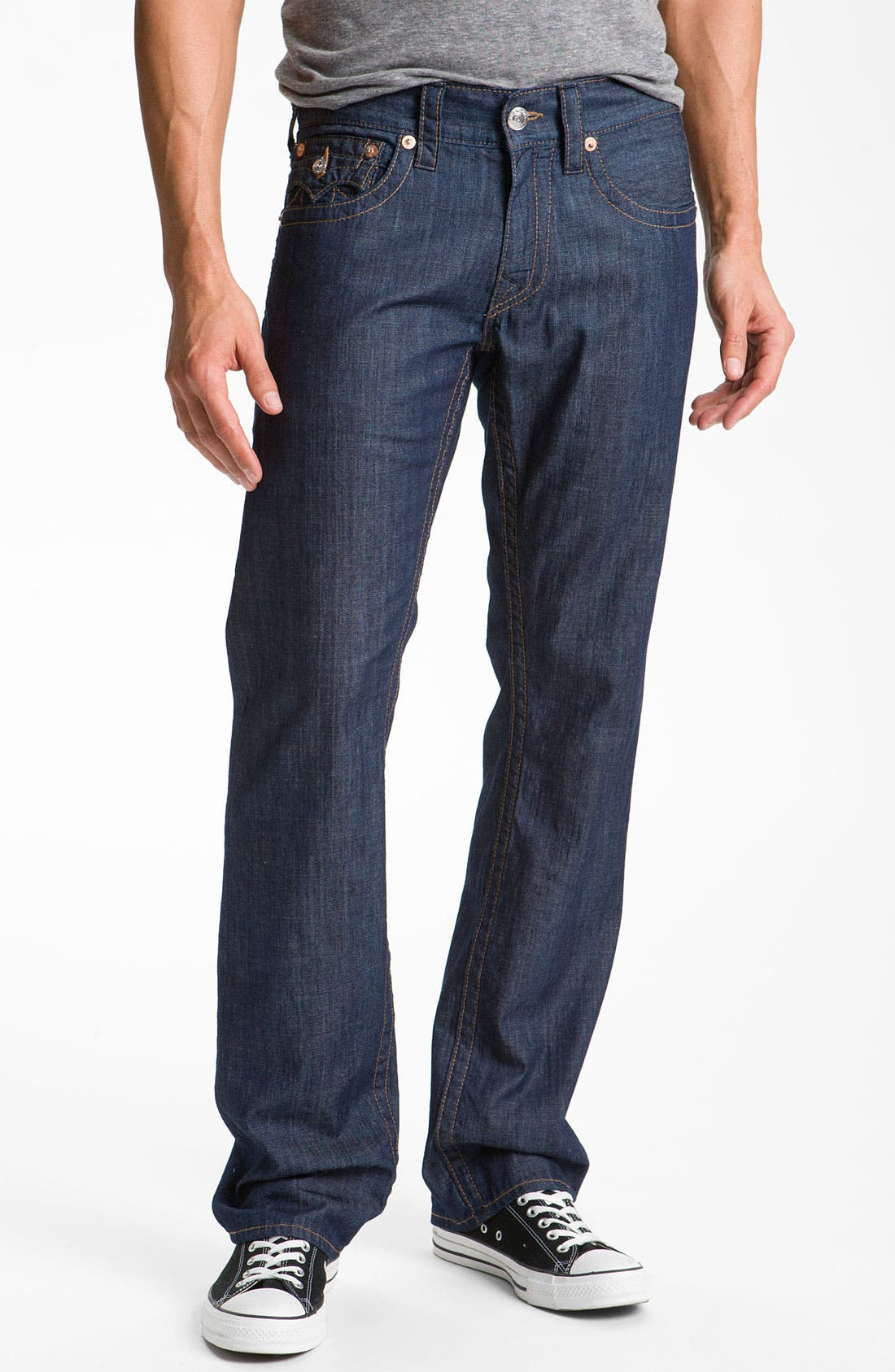 Alternate Image 2  - True Religion Brand Jeans 'Ricky' Straight Leg Jeans (2S Bodyrinse)