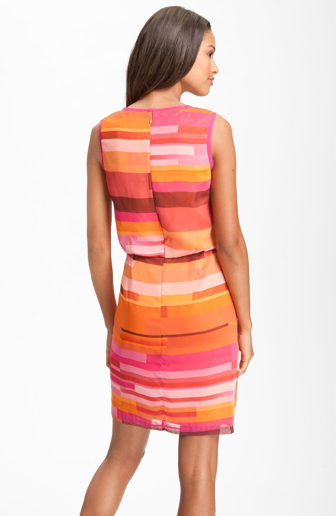 Alternate Image 2  - Vince Camuto Sleeveless Faux Wrap Dress