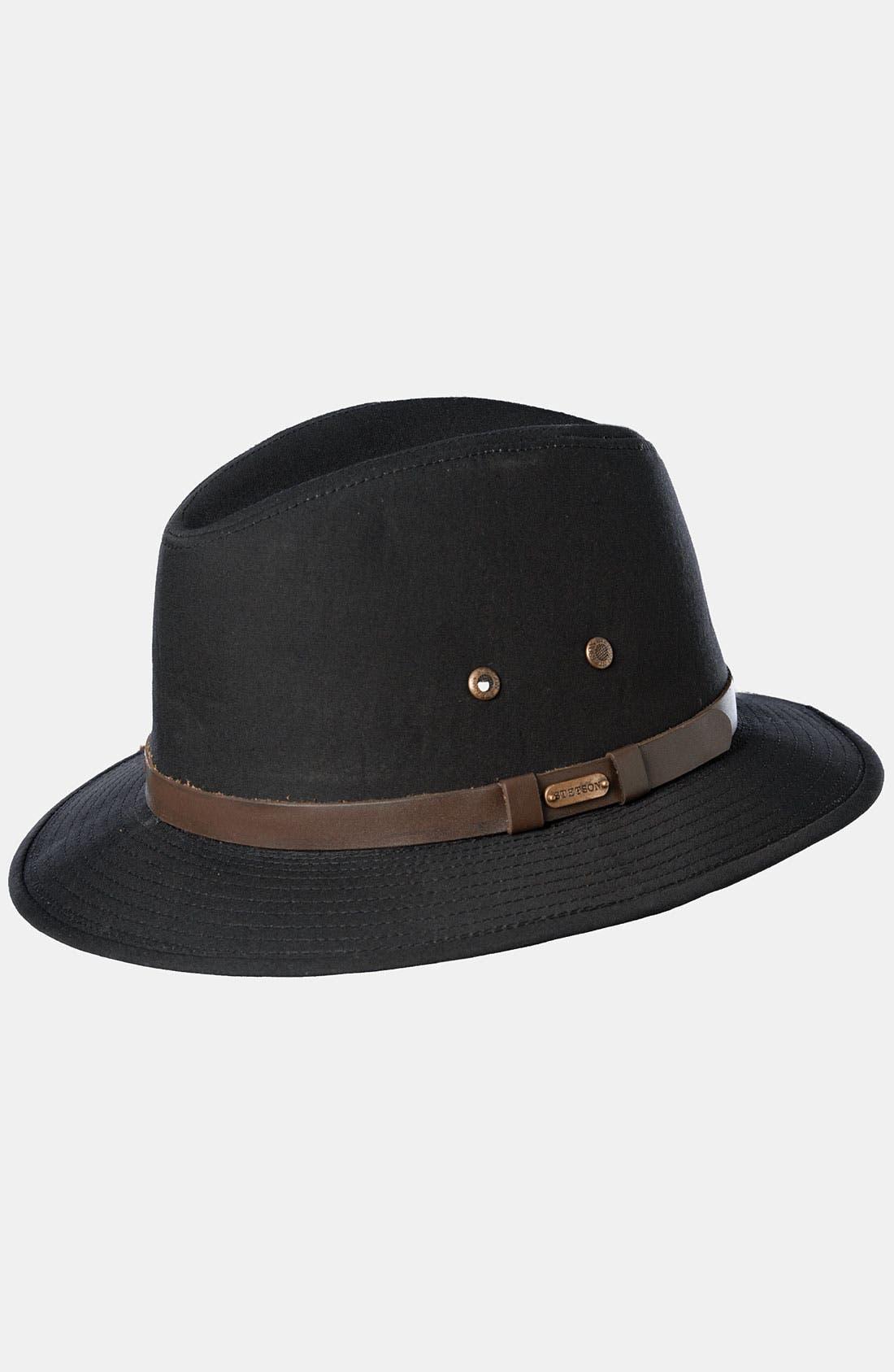 Main Image - Stetson Water Repellent Safari Hat