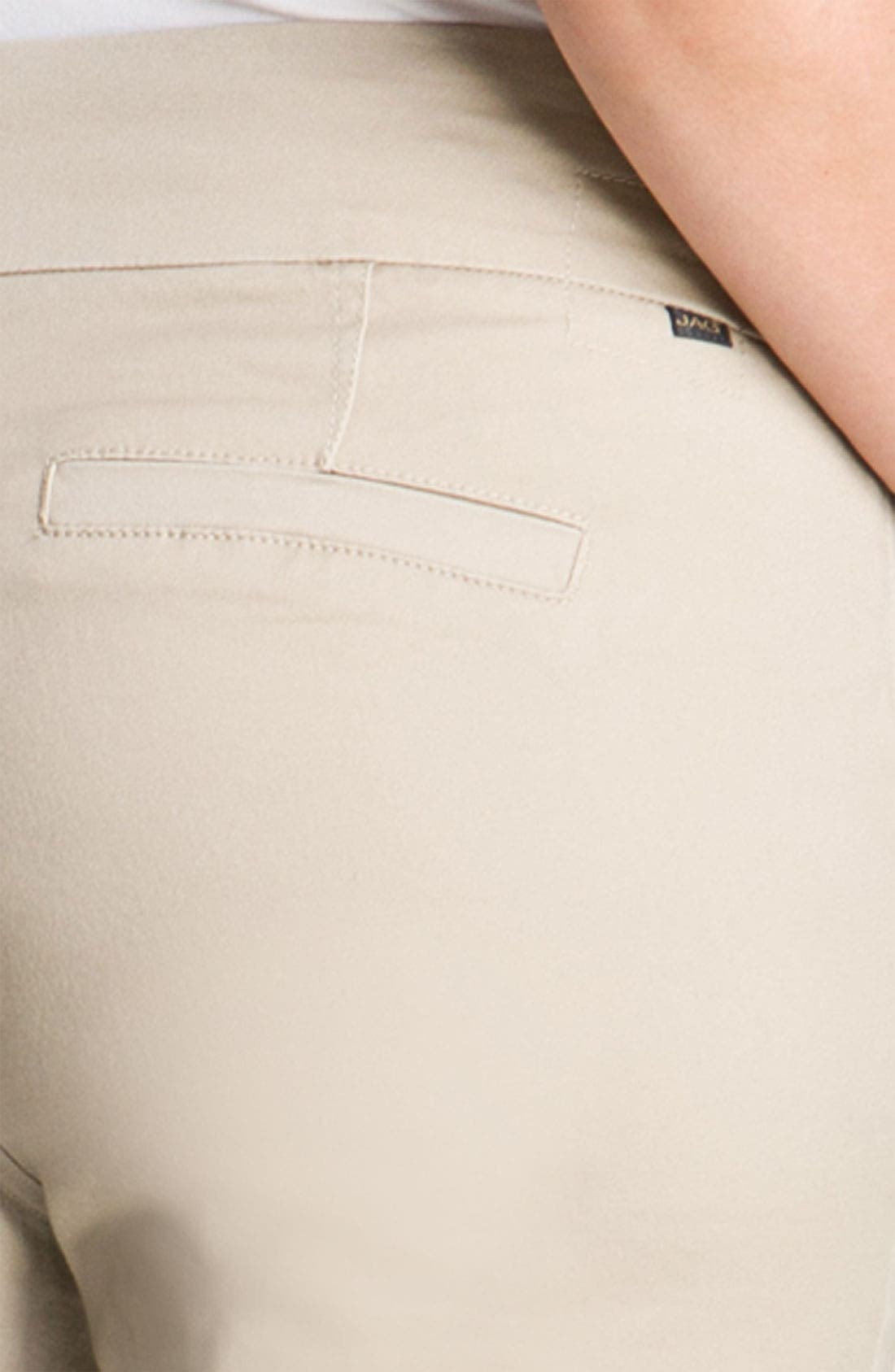 Alternate Image 3  - Jag Jeans 'Attie' Slim Ankle Pants (Plus)