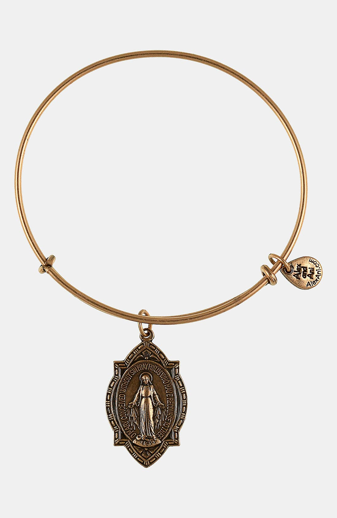 Alternate Image 1 Selected - Alex and Ani 'Mother Mary' Wire Bangle