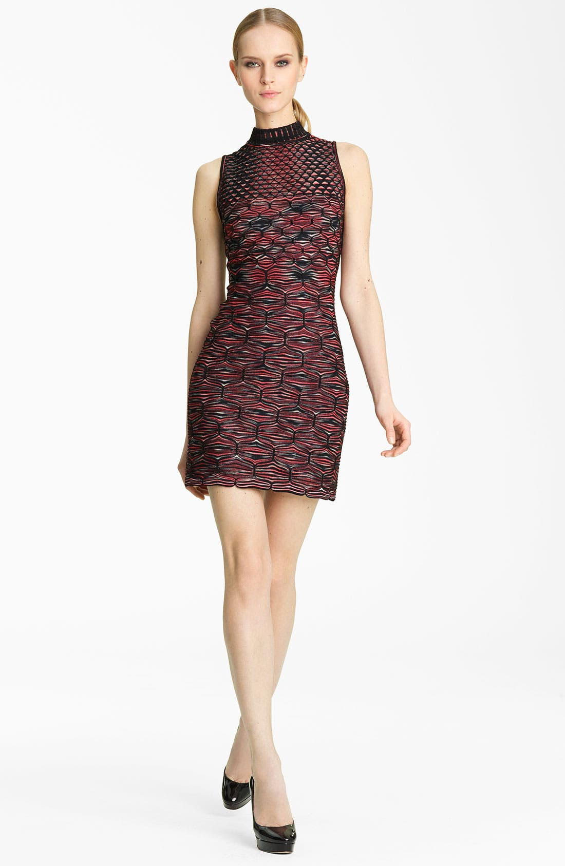 Alternate Image 1 Selected - Missoni Mock Neck Knit Dress
