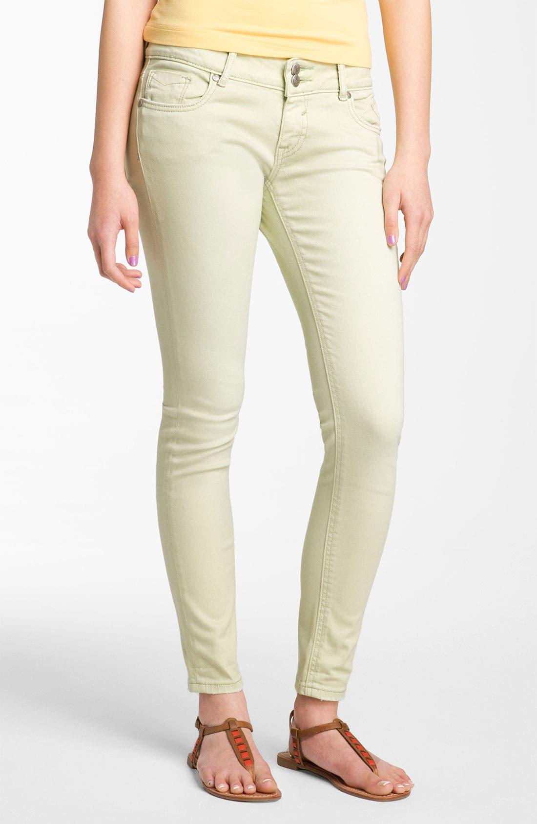 Alternate Image 2  - Vigoss Skinny Jeans (Juniors)