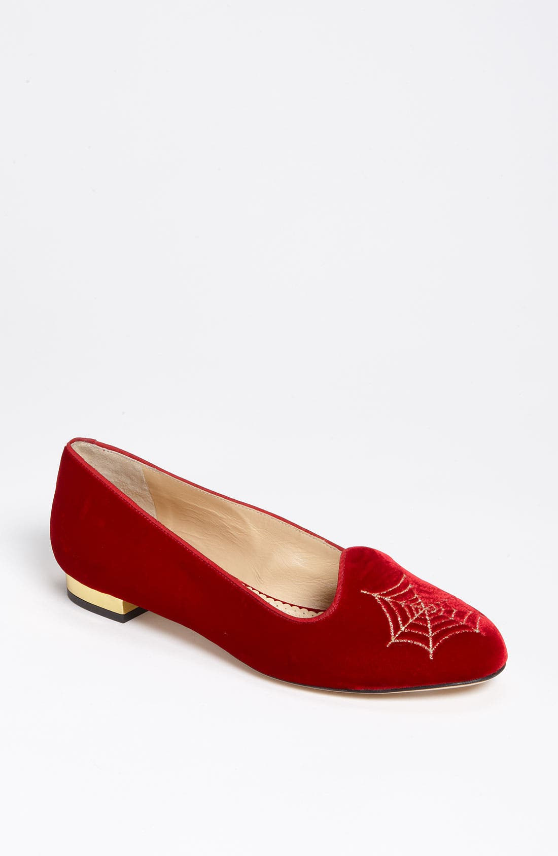 Alternate Image 1 Selected - Charlotte Olympia Smoking Slipper