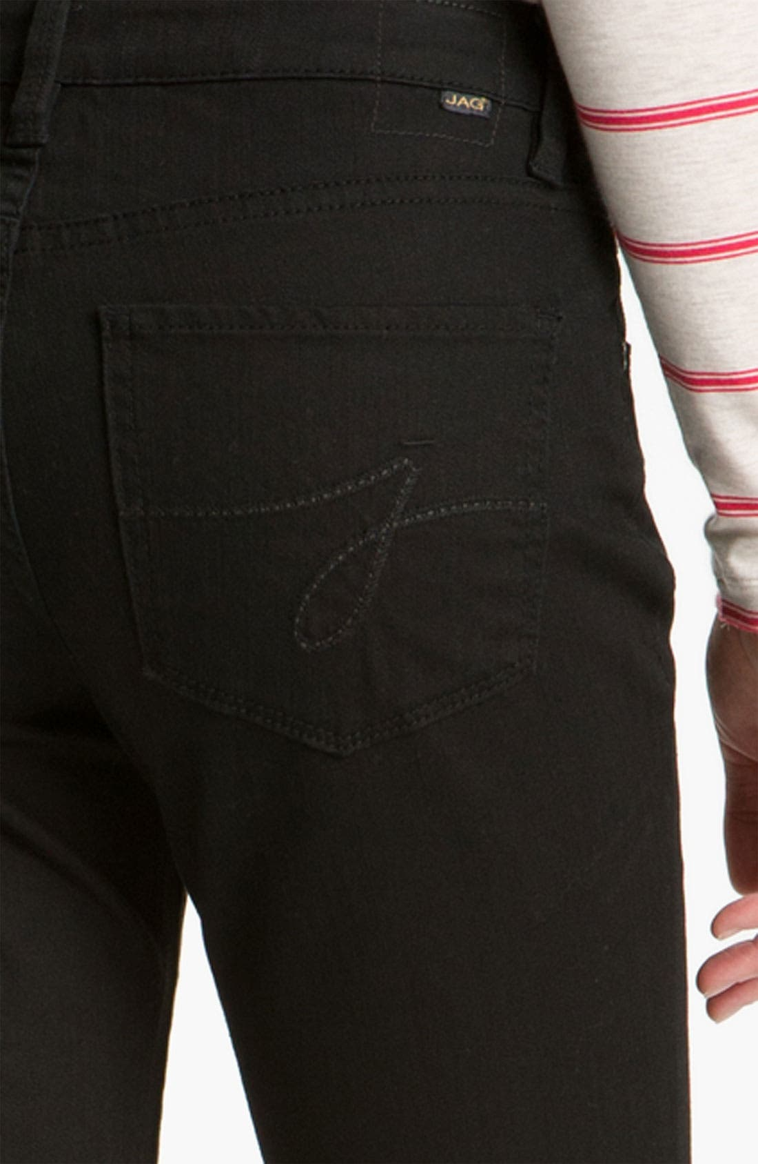 Alternate Image 3  - Jag Jeans 'Lucy' Bootcut Stretch Jeans (Black Wash) (Online Exclusive)