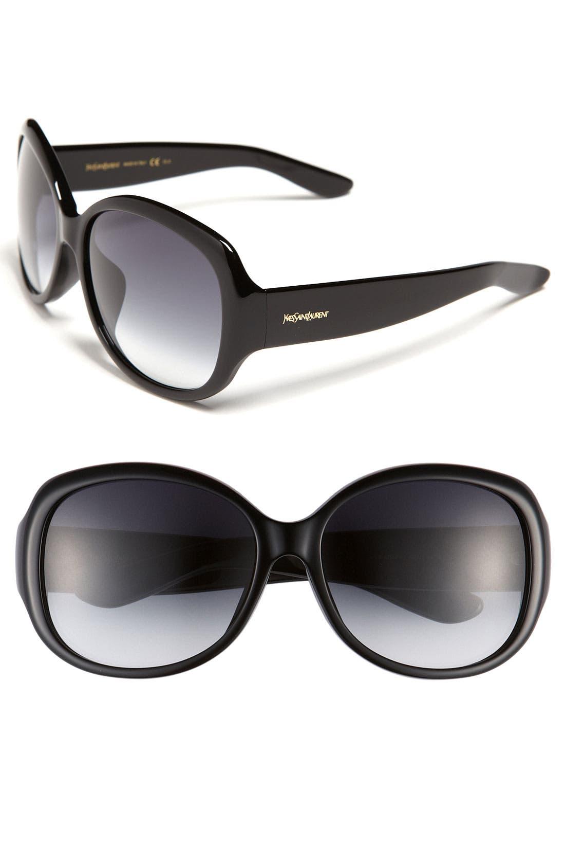 Main Image - Yves Saint Laurent Special Fit Sunglasses