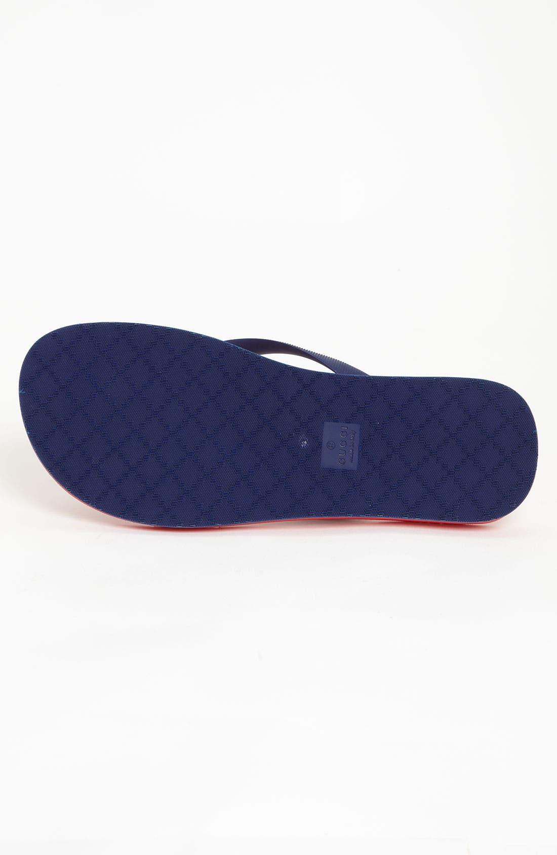 Alternate Image 4  - Gucci 'Bedlam' Flip Flop