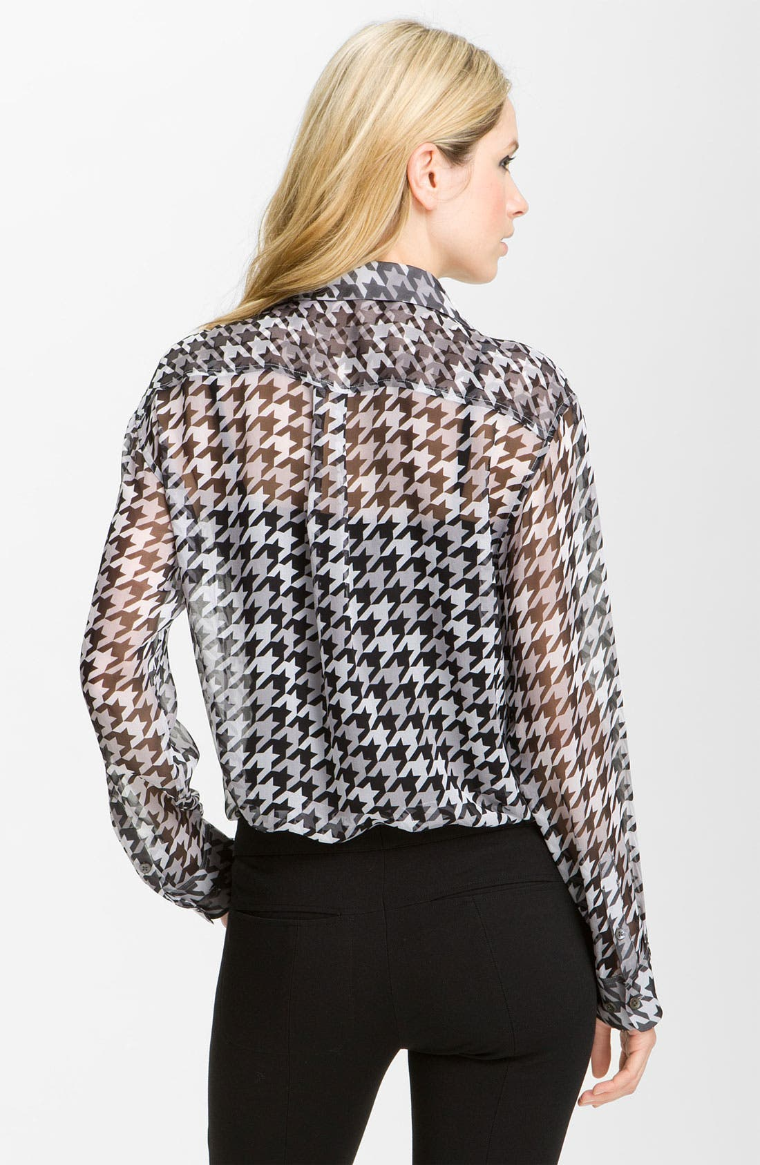 Alternate Image 2  - Equipment 'Signature' Houndstooth Shirt