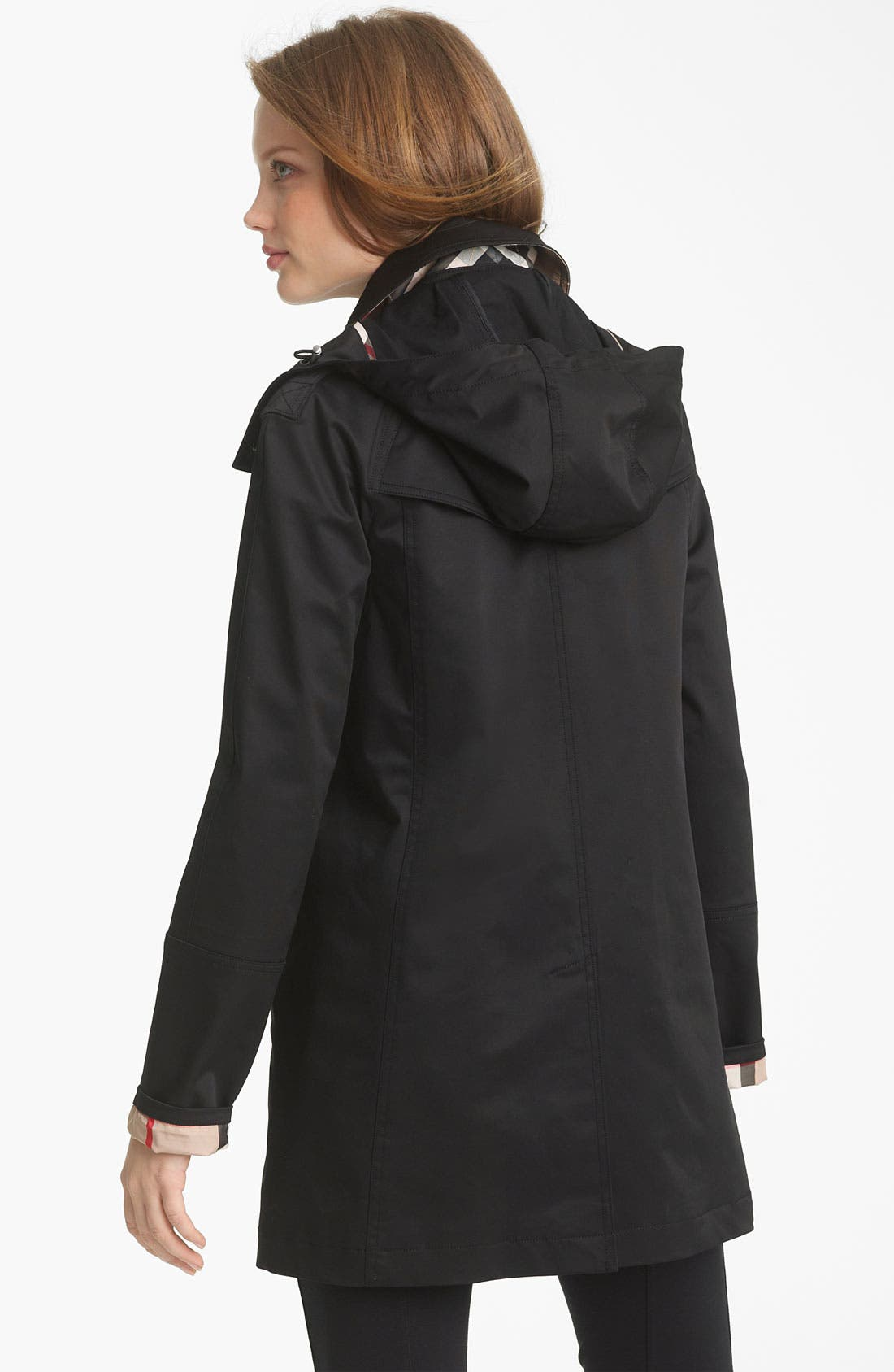 Alternate Image 3  - Burberry Brit 'Bowpark' Raincoat with Liner