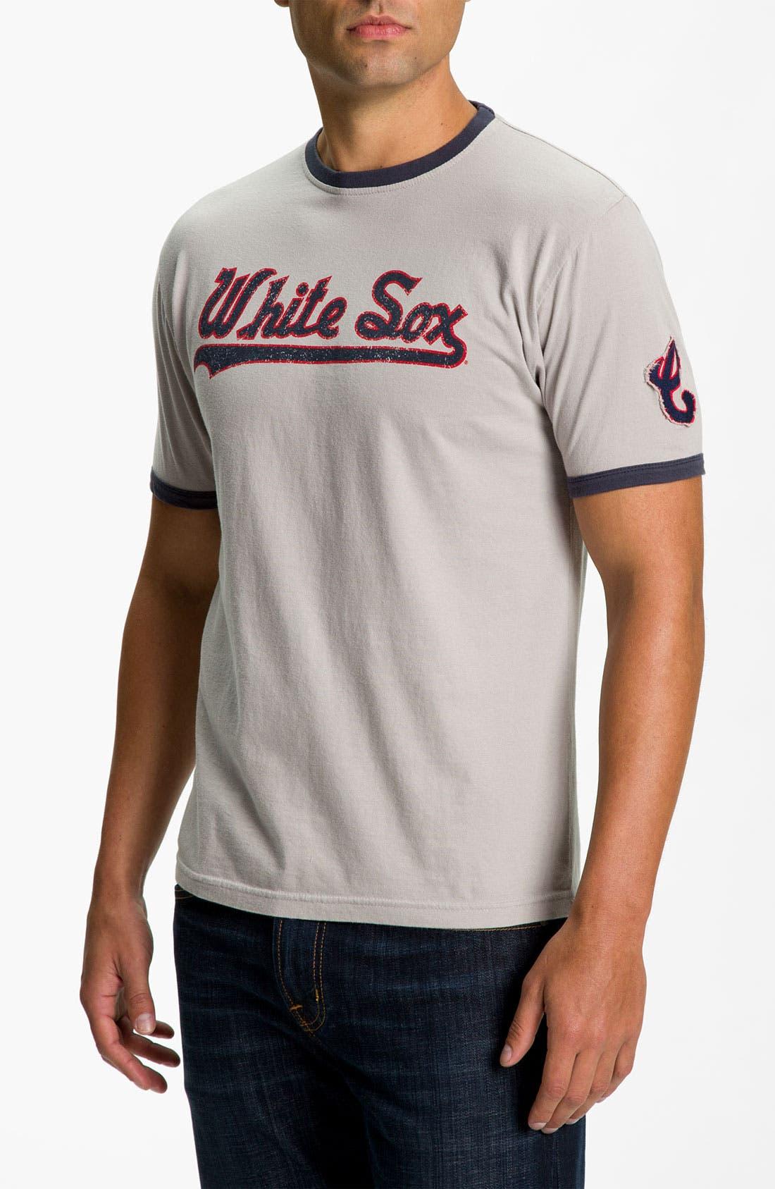 'White Sox - Remote Control' T-Shirt,                         Main,                         color, White Sox Grey