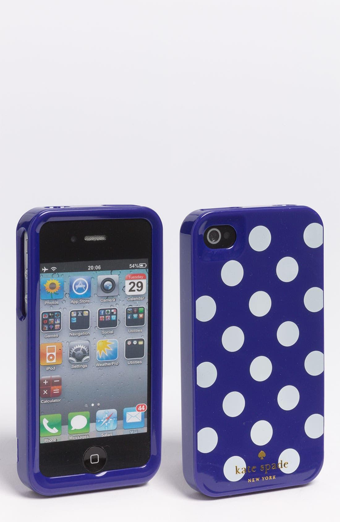 Alternate Image 1 Selected - kate spade new york 'la pavillion' iPhone 4 & 4S case