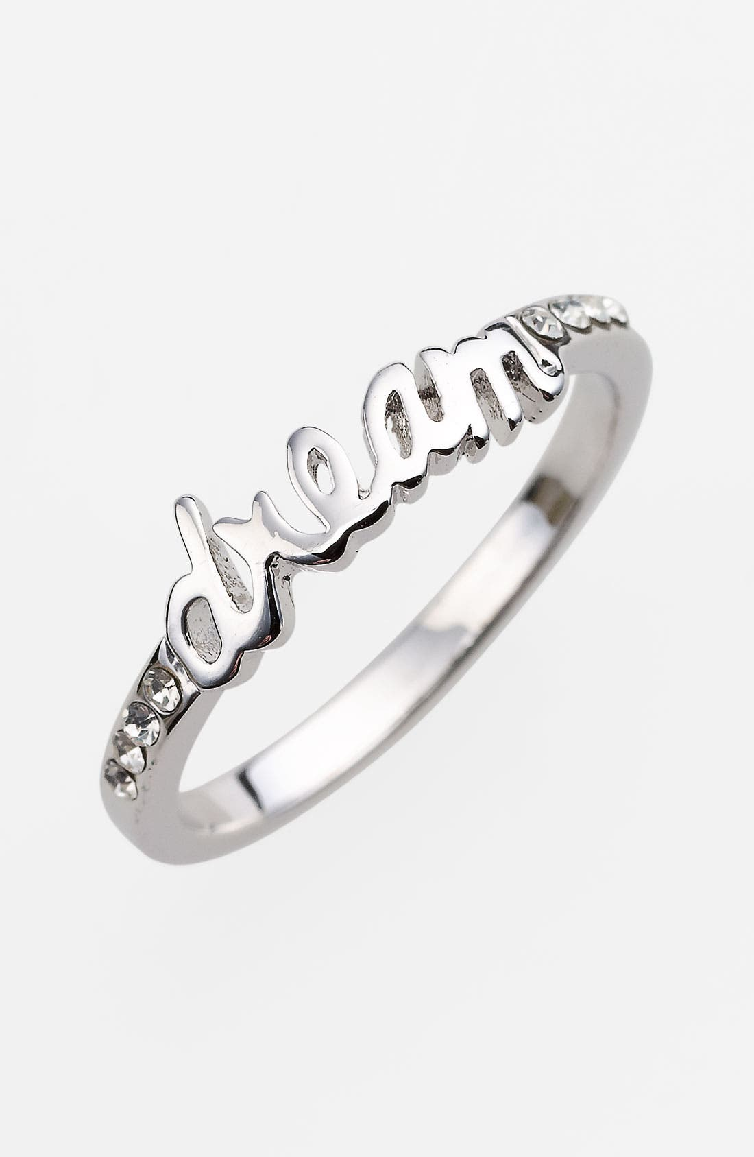 Alternate Image 1 Selected - Ariella Collection 'Messages - Dream' Script Ring (Nordstrom Exclusive)