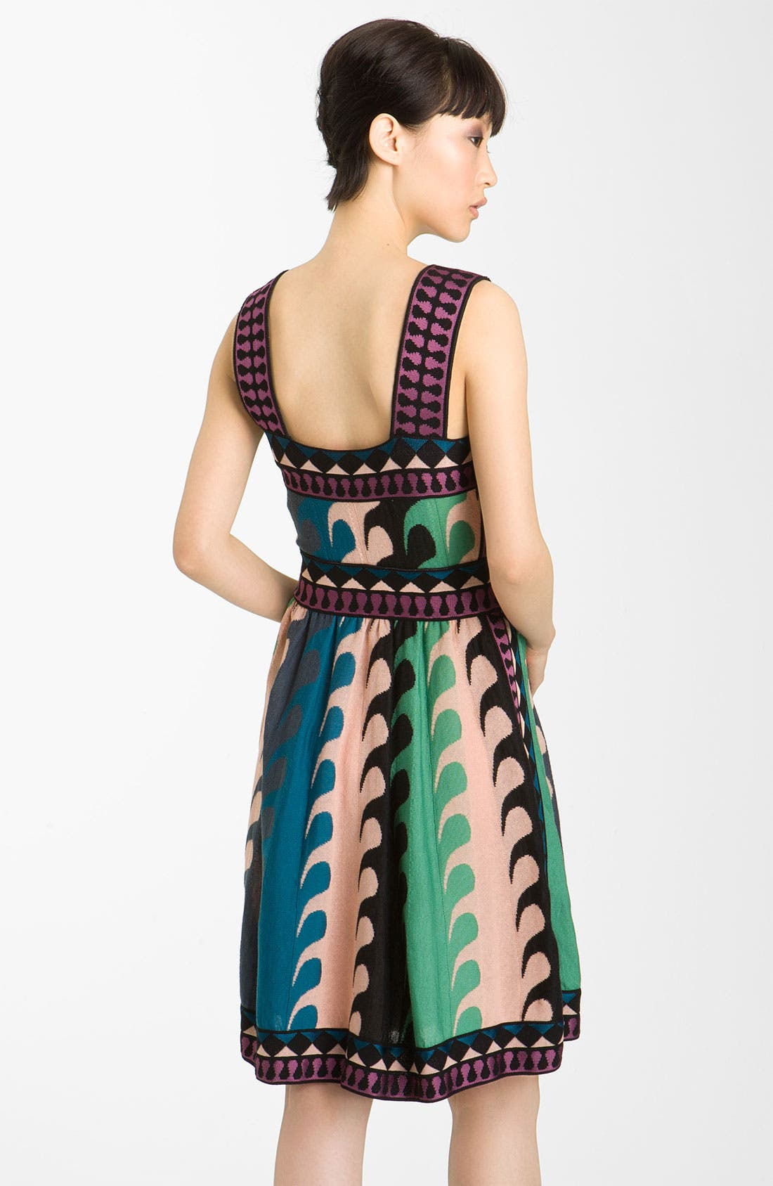 Alternate Image 2  - M Missoni Ocean Stripe Intarsia Tank Dress