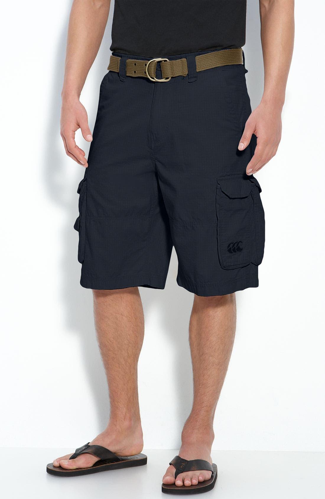Alternate Image 1 Selected - Canterbury of New Zealand Ripstop Cargo Shorts
