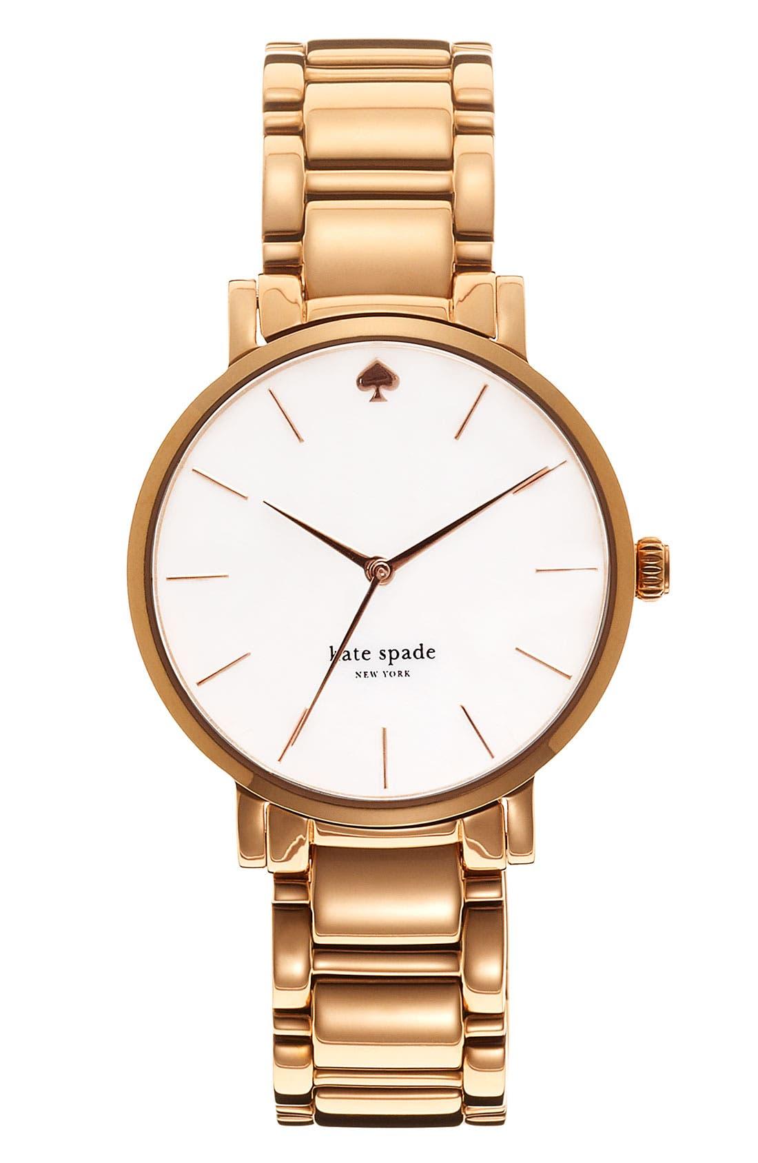 Alternate Image 1 Selected - kate spade new york 'gramercy' bracelet watch