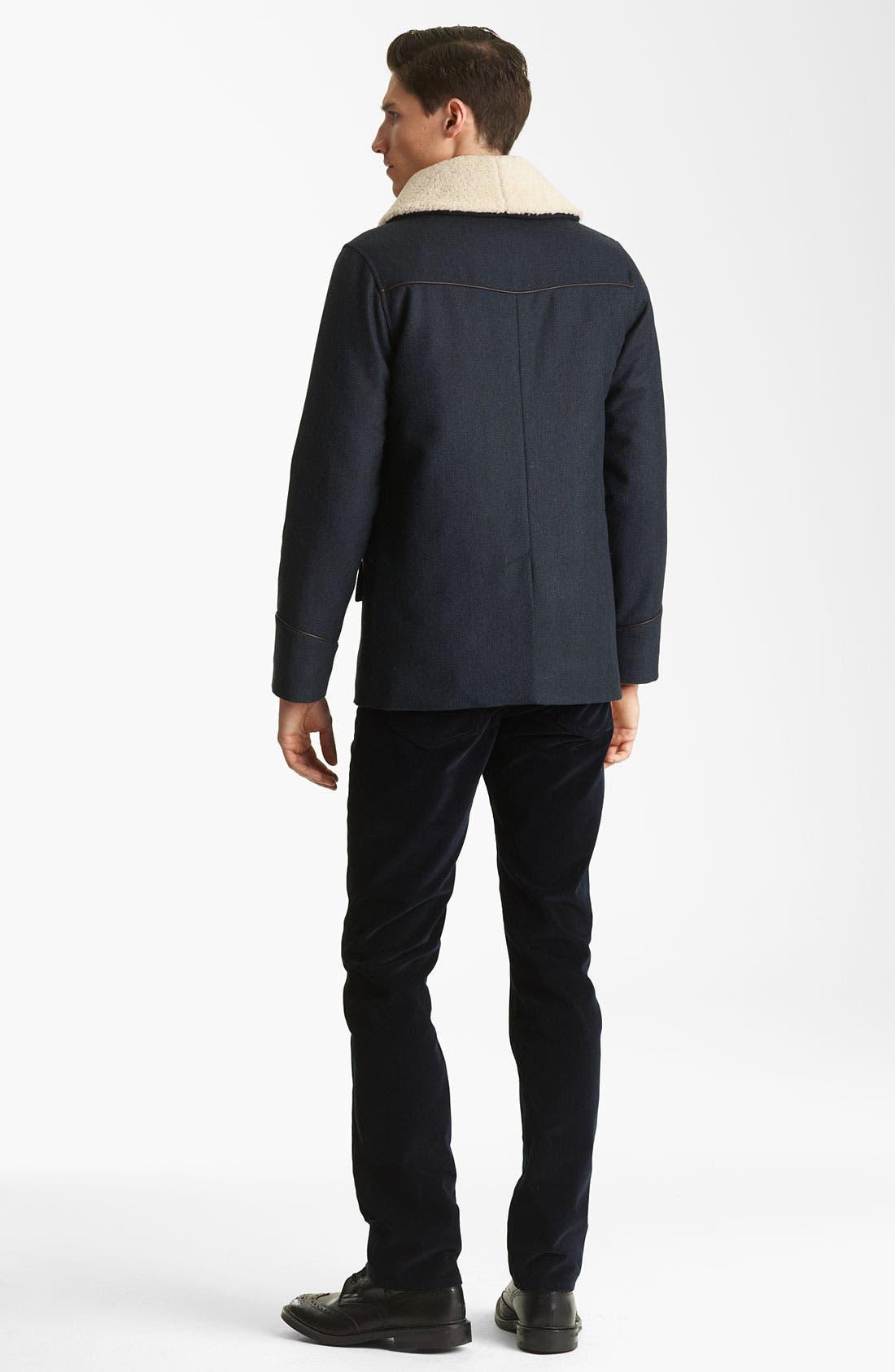 Alternate Image 5  - A.P.C. 'Vintage' Plaid Cotton Shirt