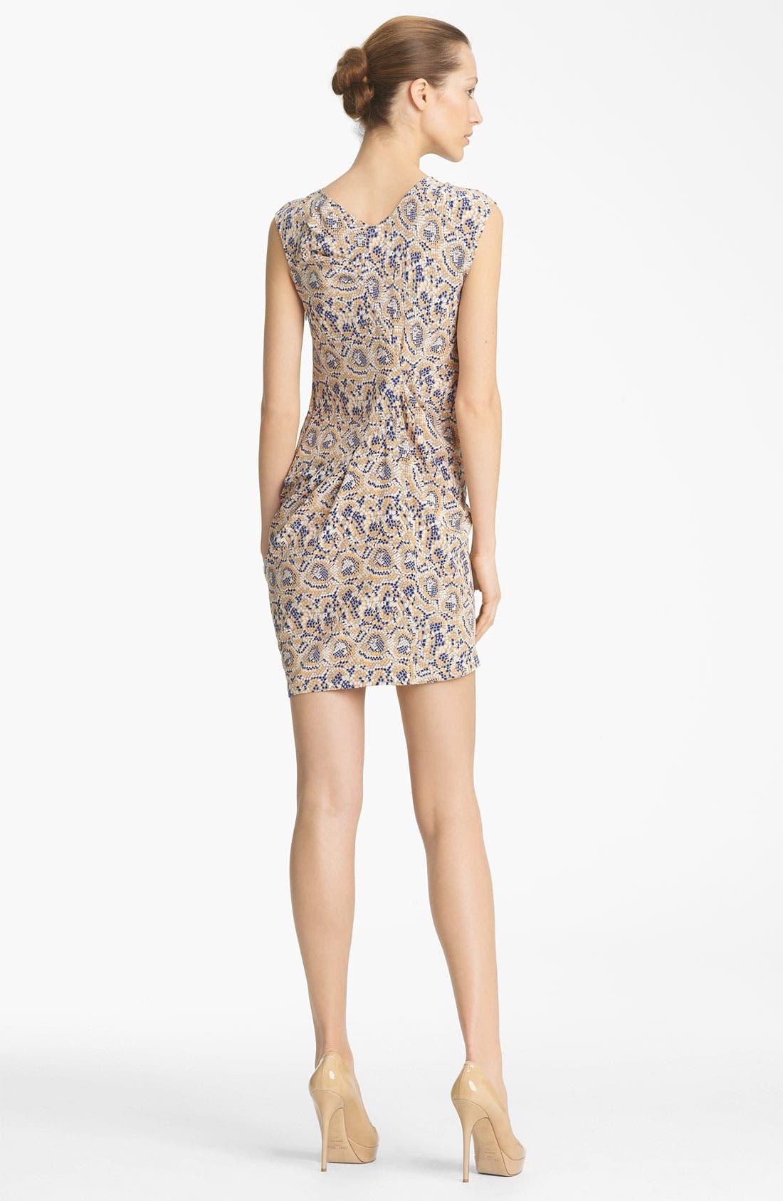 Alternate Image 2  - Thakoon Mosaic Print Silk Dress