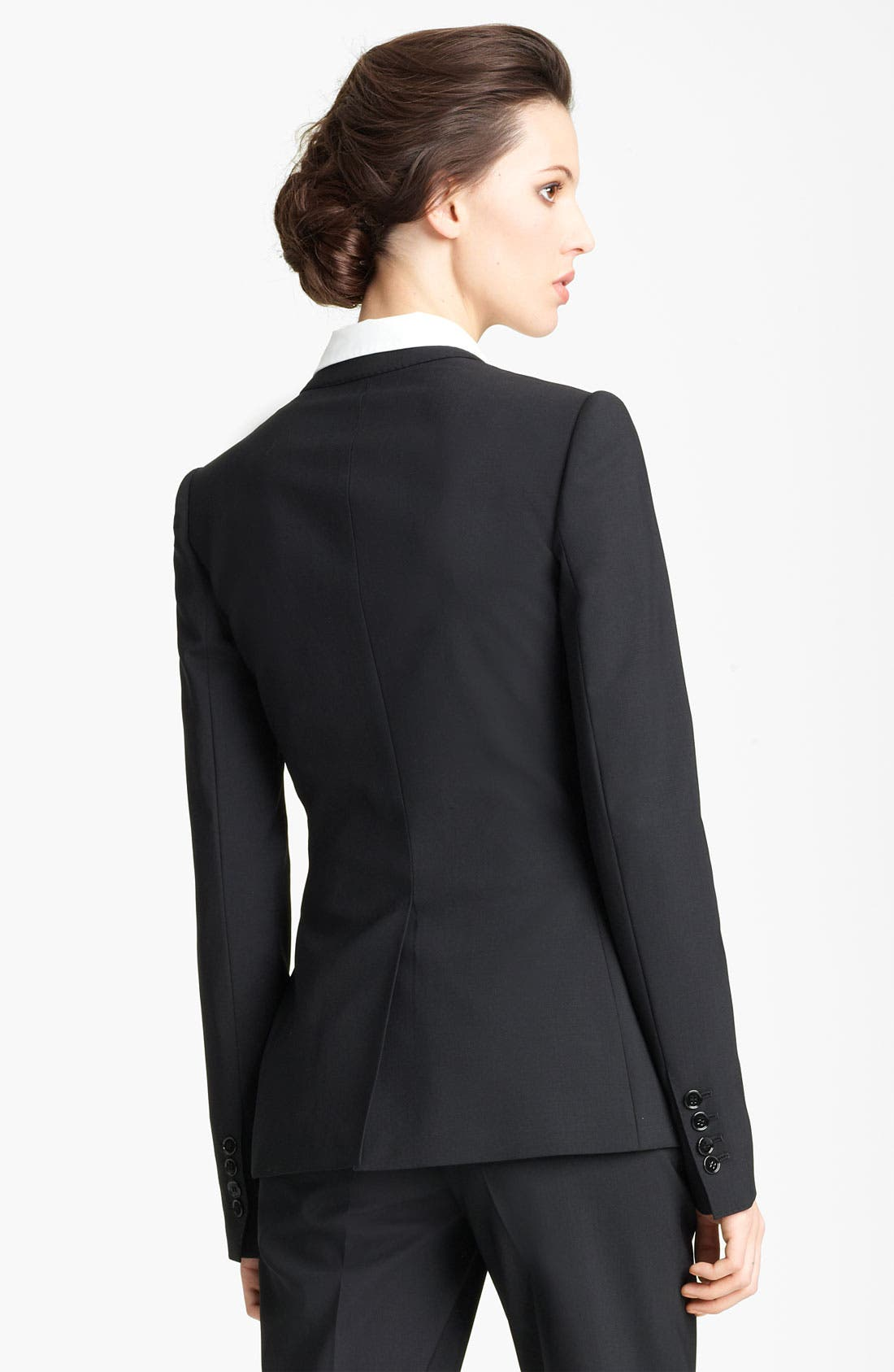 Alternate Image 2  - Dolce&Gabbana Stretch Wool Blazer
