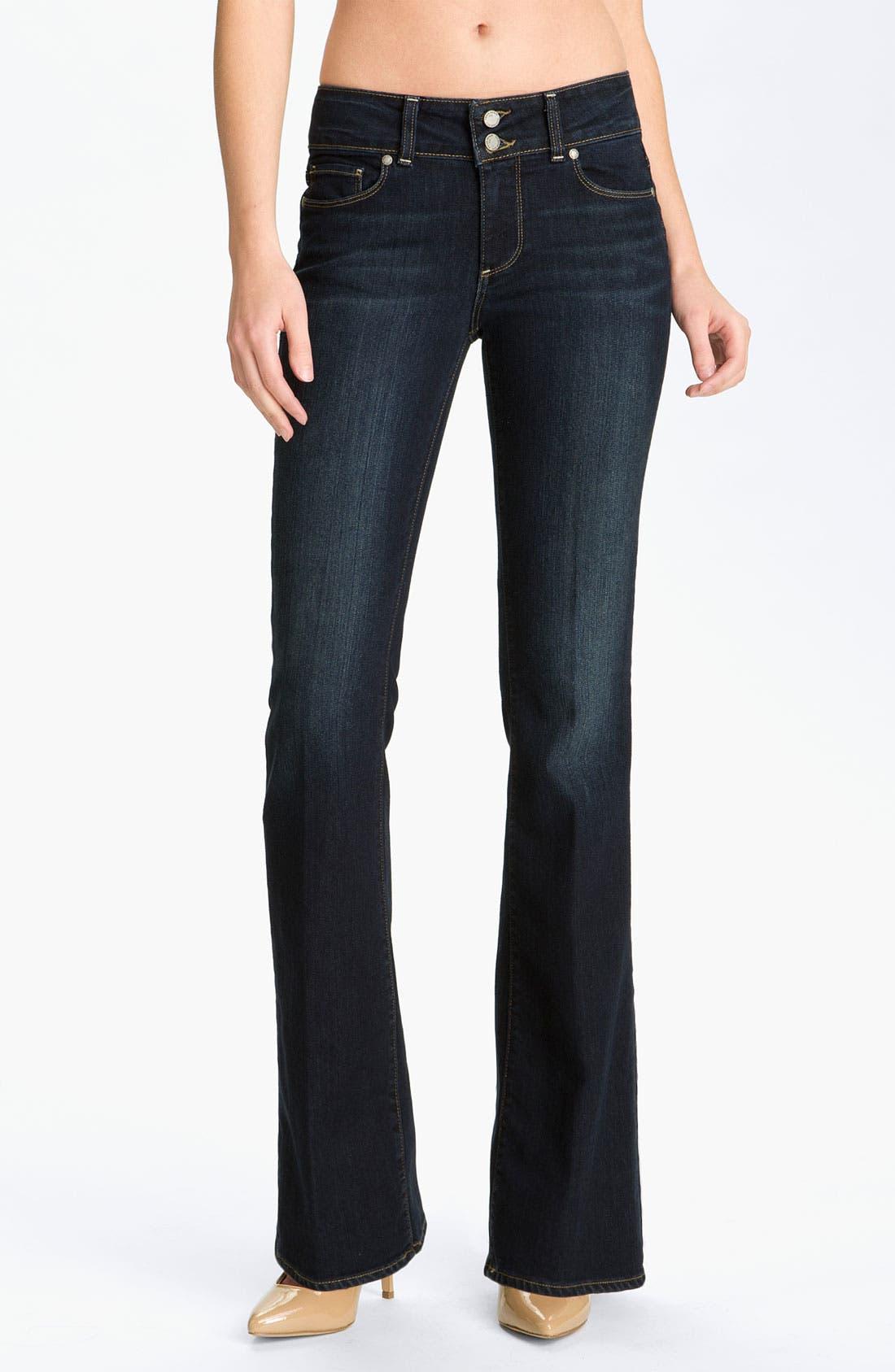 Main Image - Paige Denim 'Hidden Hills' Bootcut Stretch Jeans (Super McKinley)