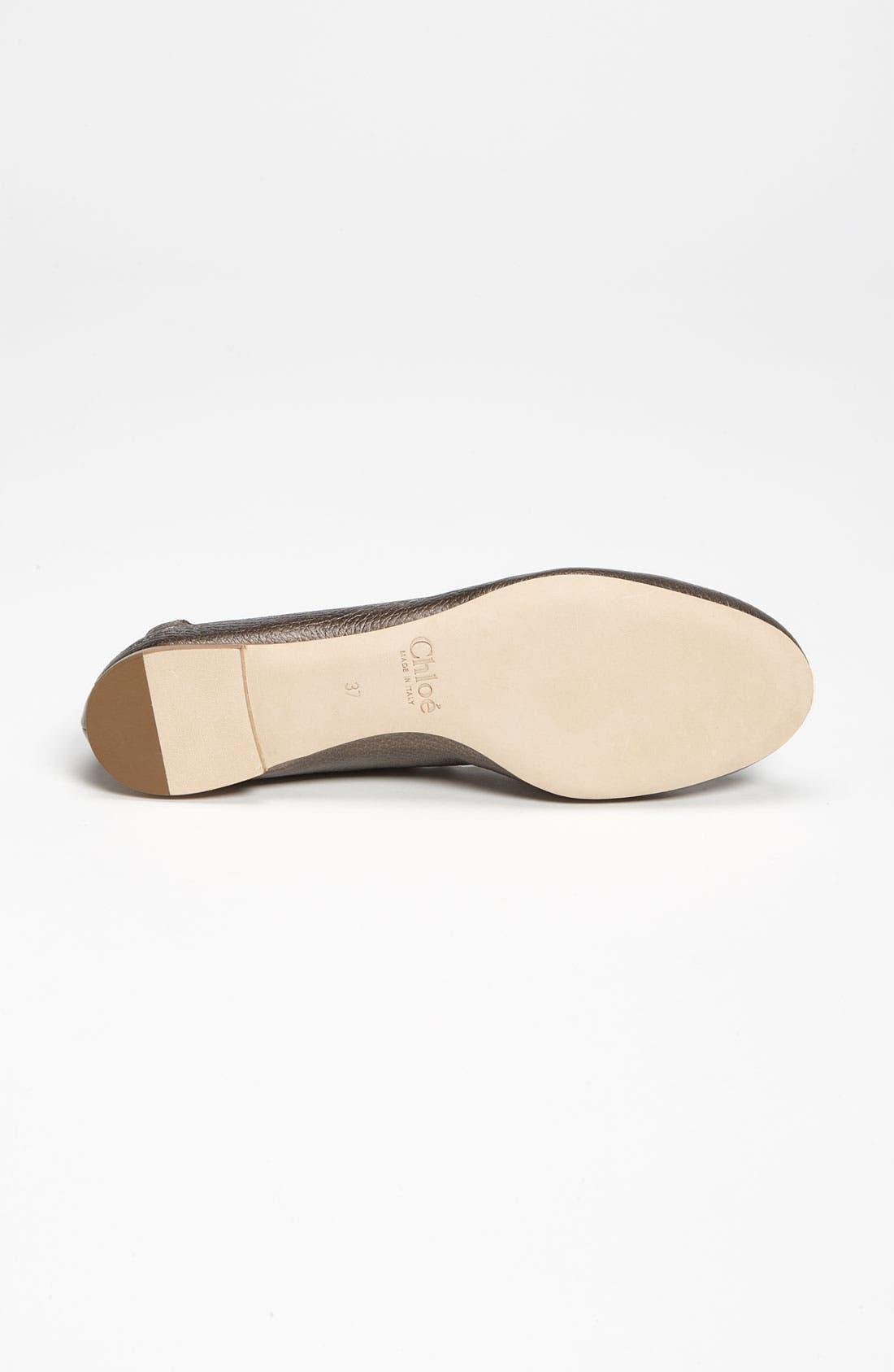 Alternate Image 4  - Chloé Scalloped Ballet Flat